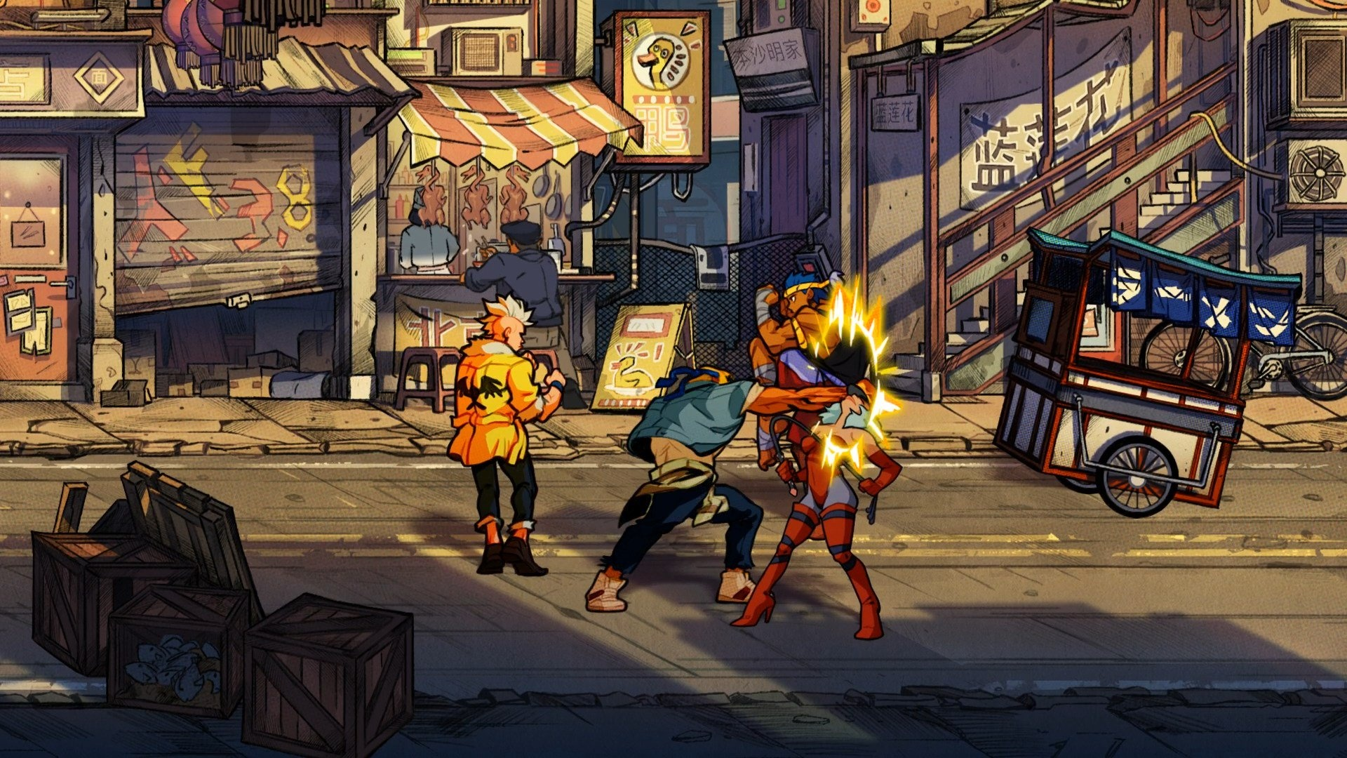Streets Of Rage 4 Ps4 Playstation 4 Streets Of Rage 4 Ps4