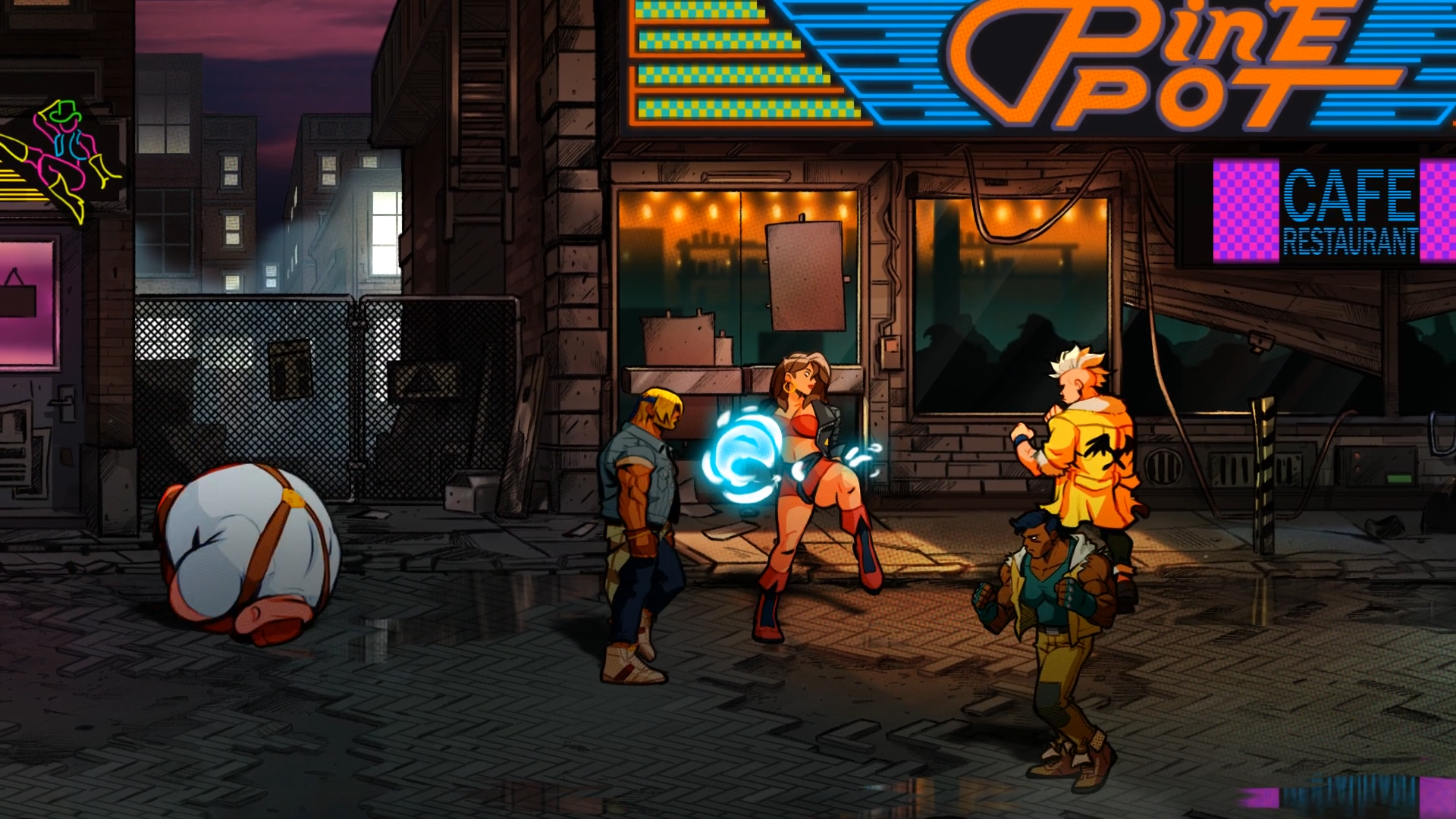 Streetsofrage4-0012 - Streets Of Rage 4 , HD Wallpaper & Backgrounds
