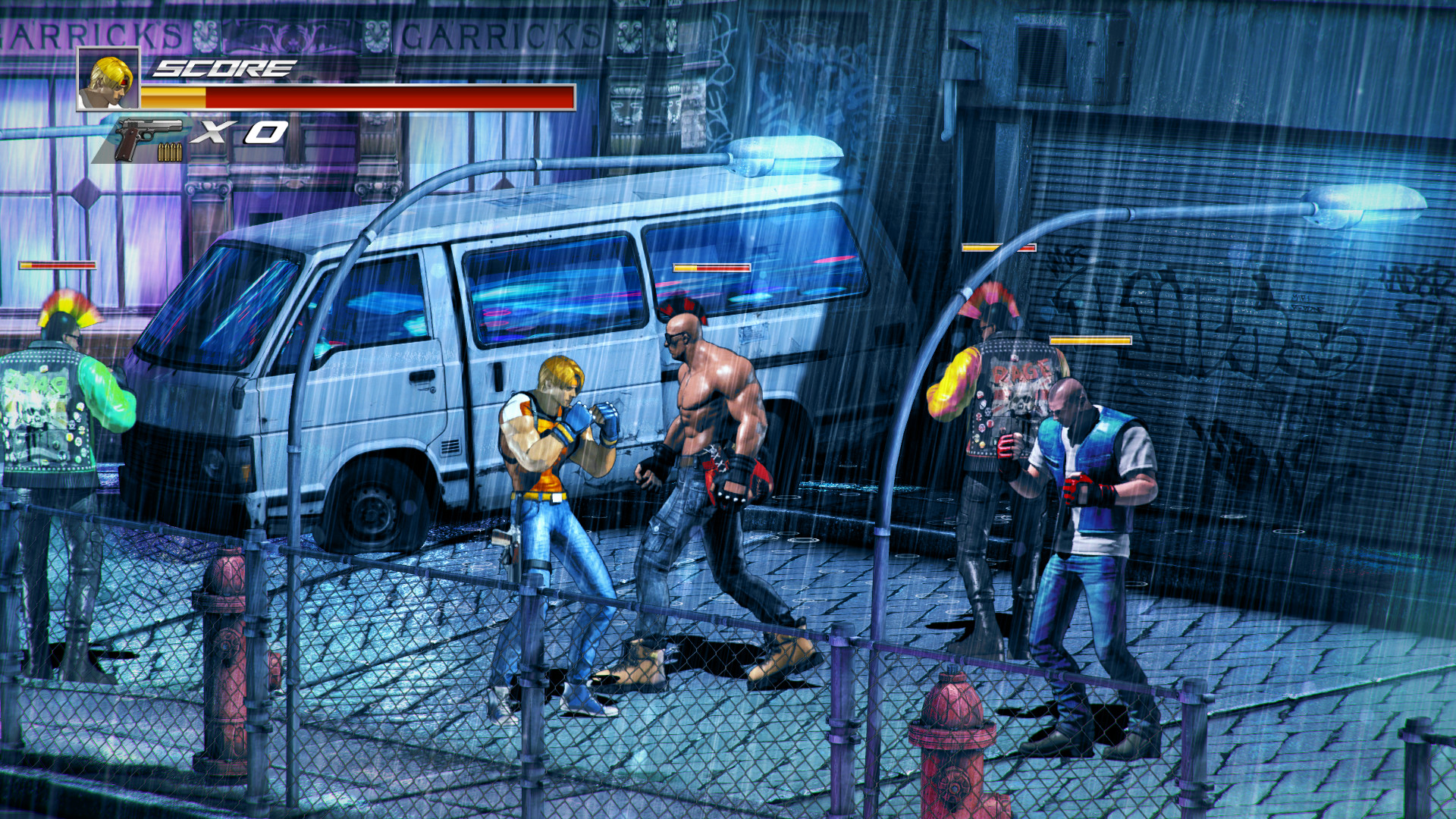 The Takeover Game Wallpaper Beat Em Up Switch 1199474 Hd