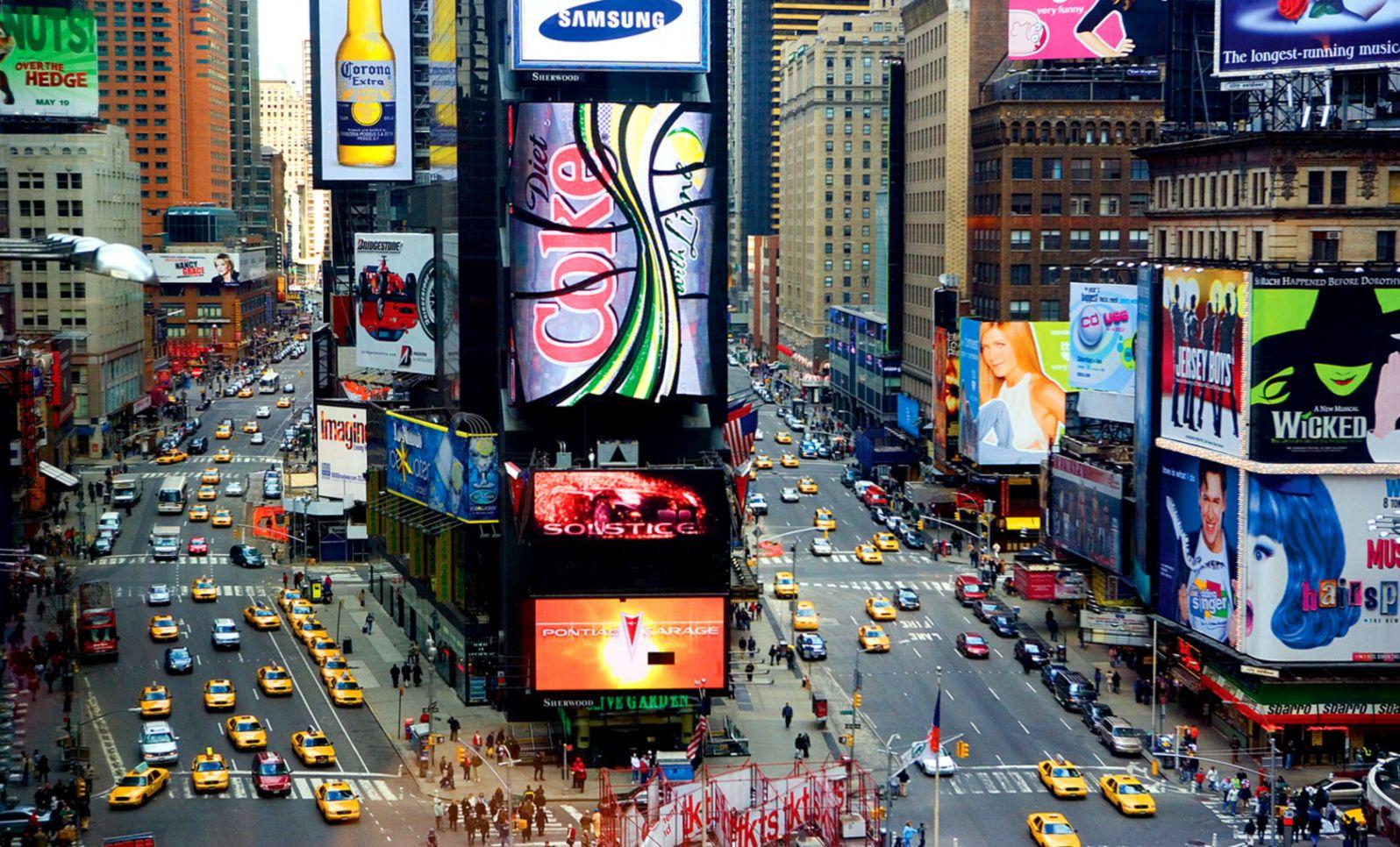 Times Square Wallpaper Times Square 1199916 Hd Wallpaper