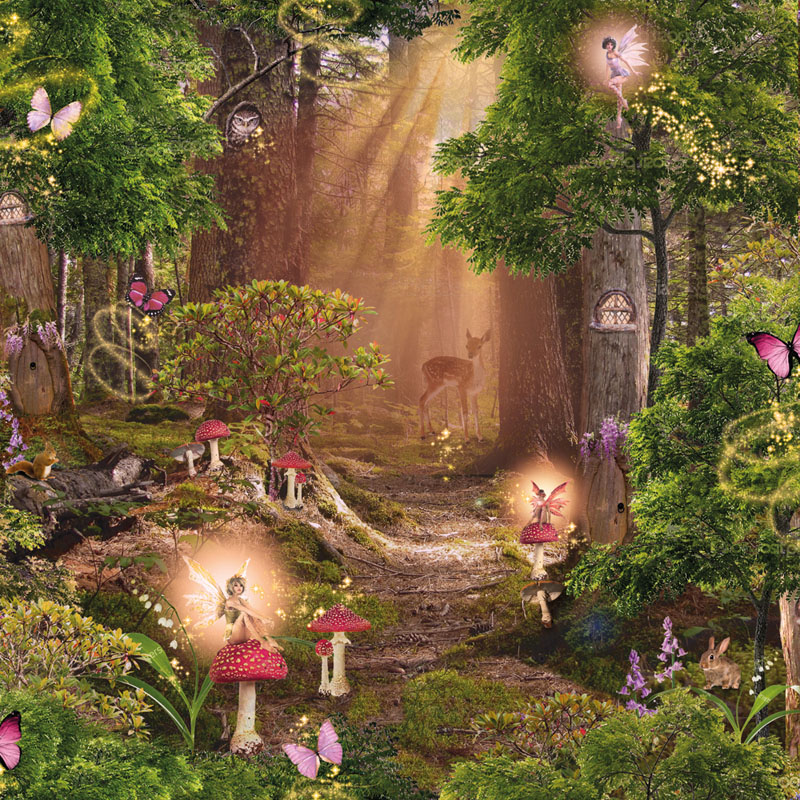 Magic Wallpaper Magic Magical Fairy Garden 121722 Hd