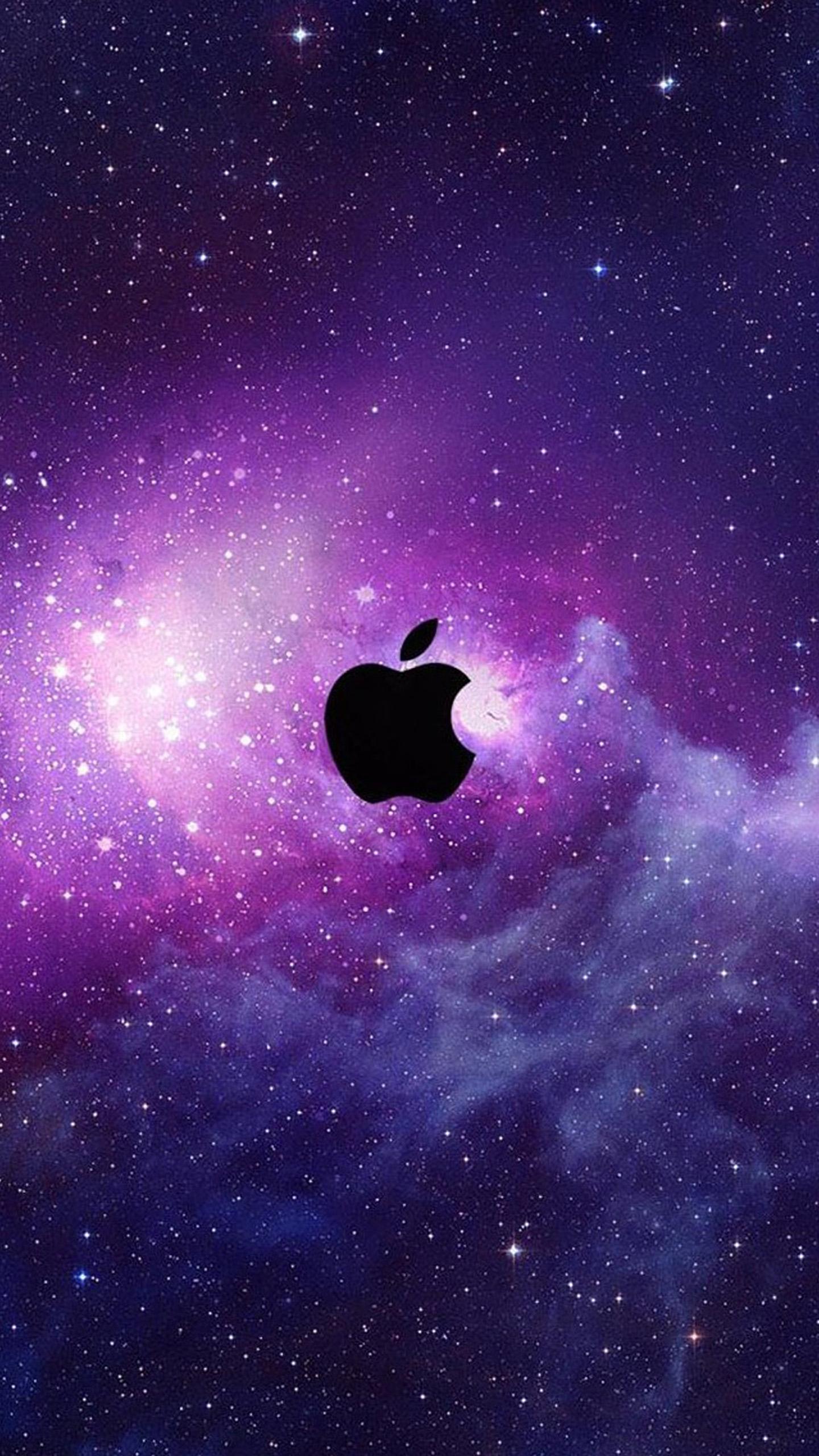 Deep Space Iphone Wallpapers 4 - Apple Logo Wallpaper Iphone 7 Plus , HD Wallpaper & Backgrounds