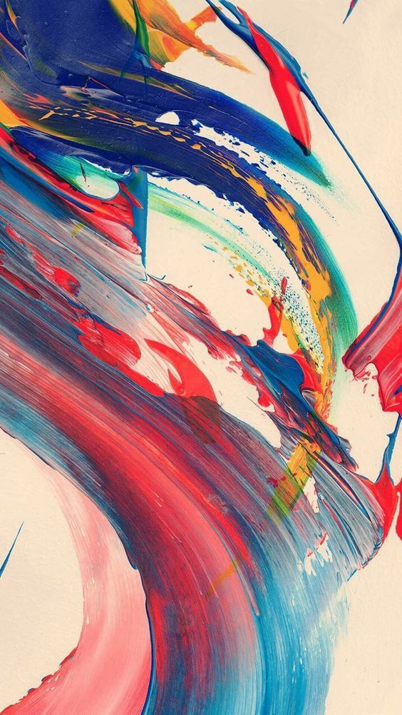 Cool Iphone Wallpapers - Abstract Brush Stroke Art , HD Wallpaper & Backgrounds