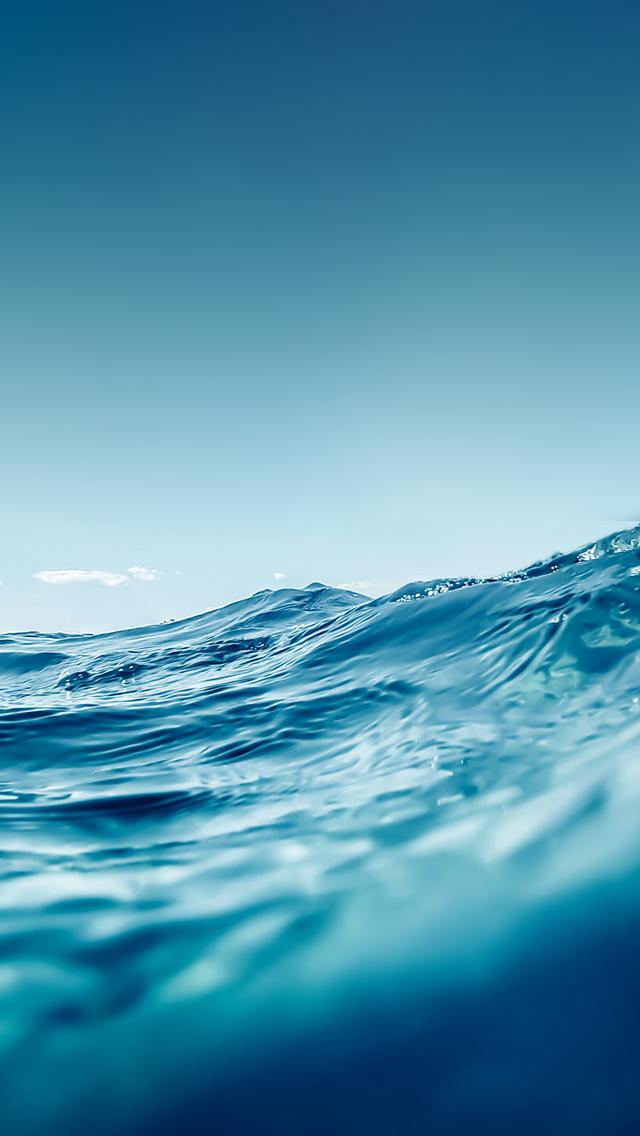 Download Link - Live Ocean Wallpaper Iphone , HD Wallpaper & Backgrounds