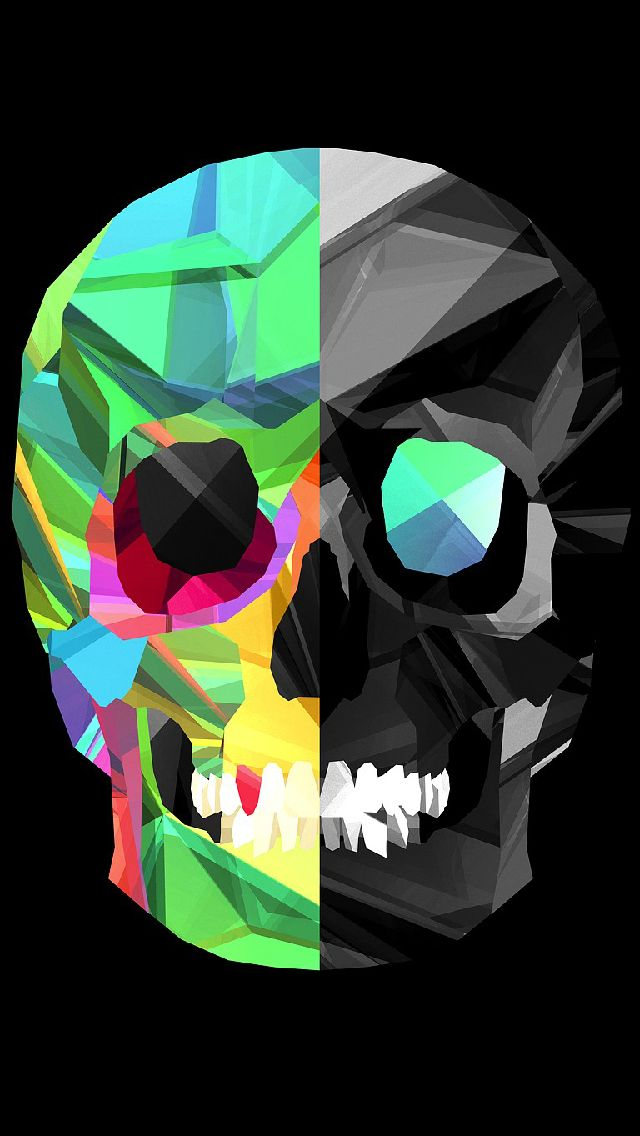 Cool Iphone Wallpapers Skull , HD Wallpaper & Backgrounds