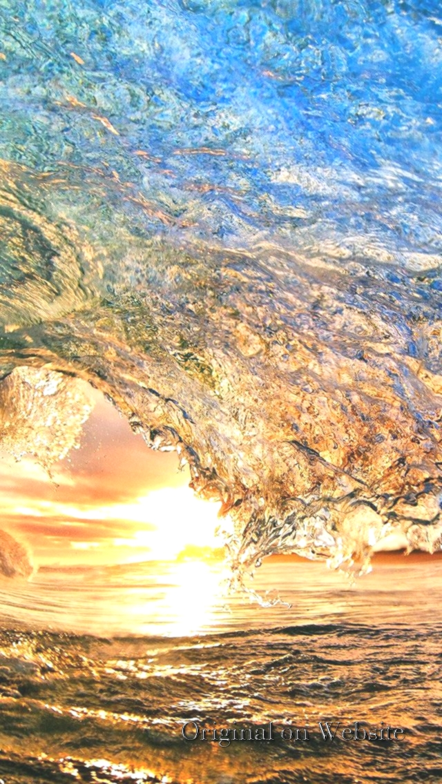 Ocean Sunset Wave Background , HD Wallpaper & Backgrounds