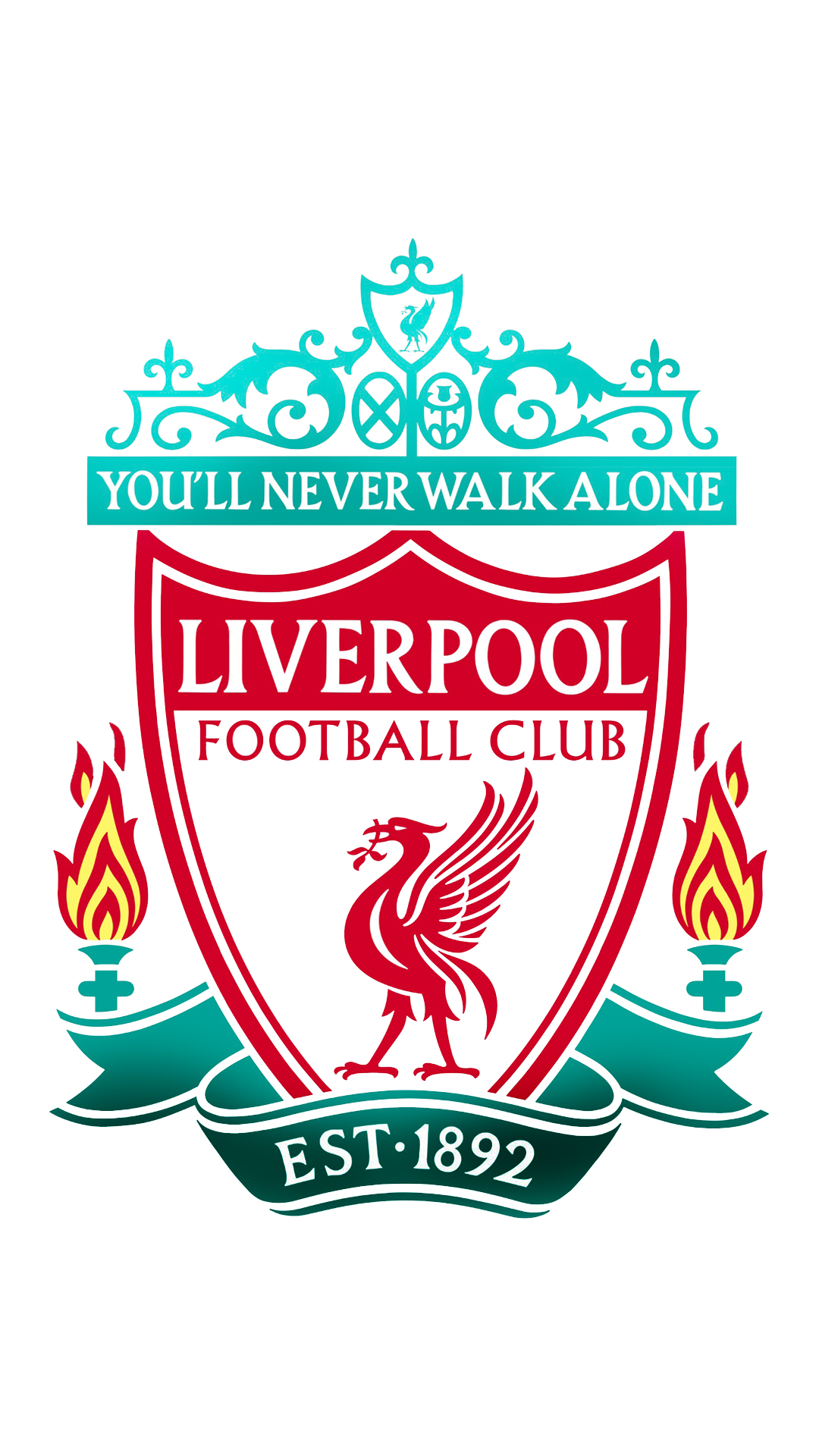 Liverpool Fc Crest - Liverpool Fc Iphone 6 , HD Wallpaper & Backgrounds