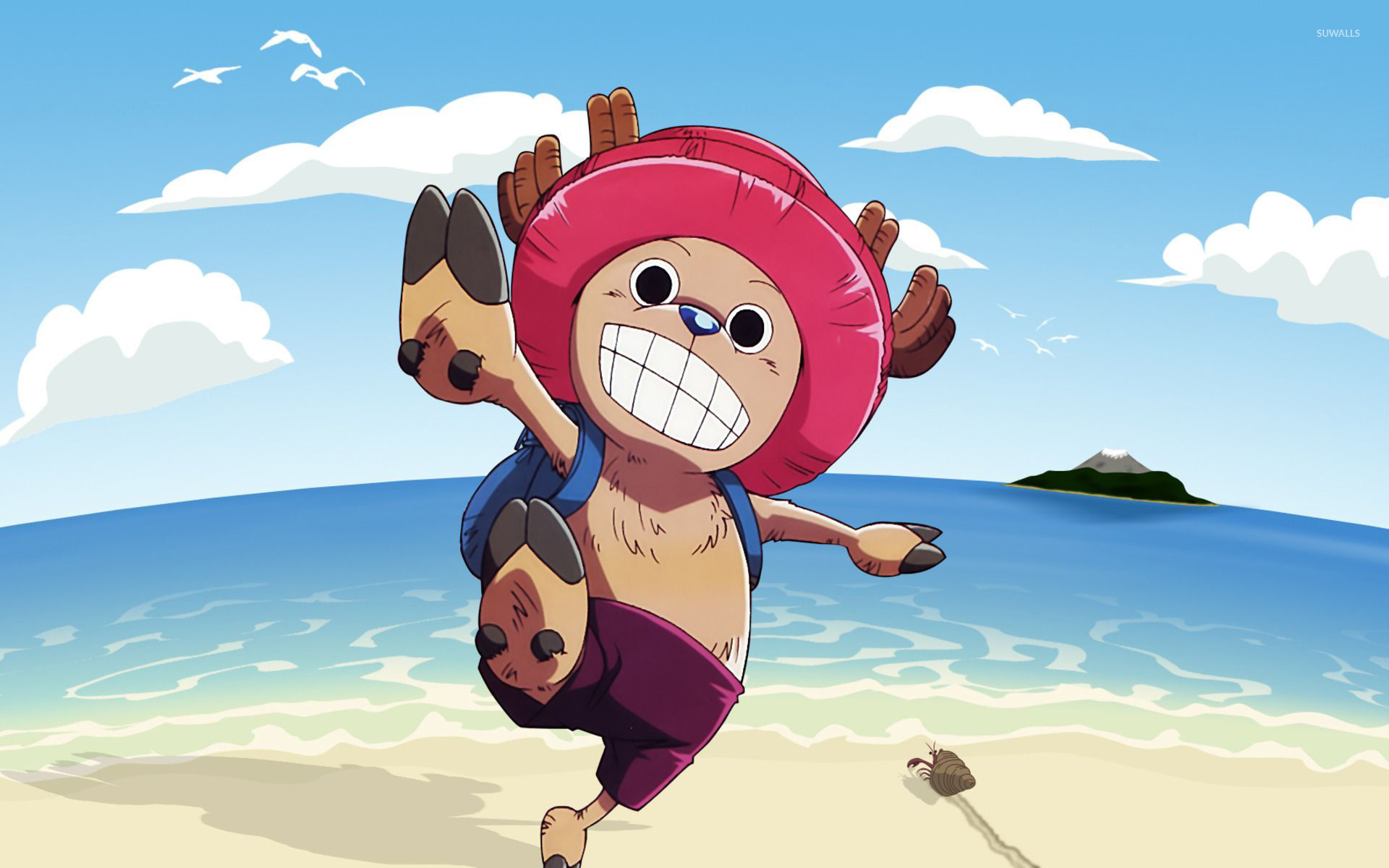 Tony Tony Chopper One Piece Chopper Background 124876 Hd Wallpaper Backgrounds Download