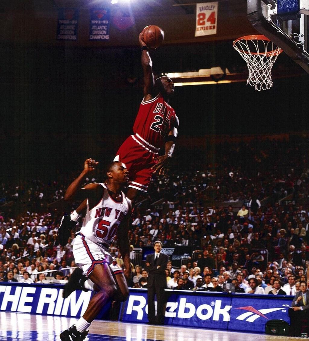 Michael Jordan Dunking Hd 125063 Hd Wallpaper Backgrounds