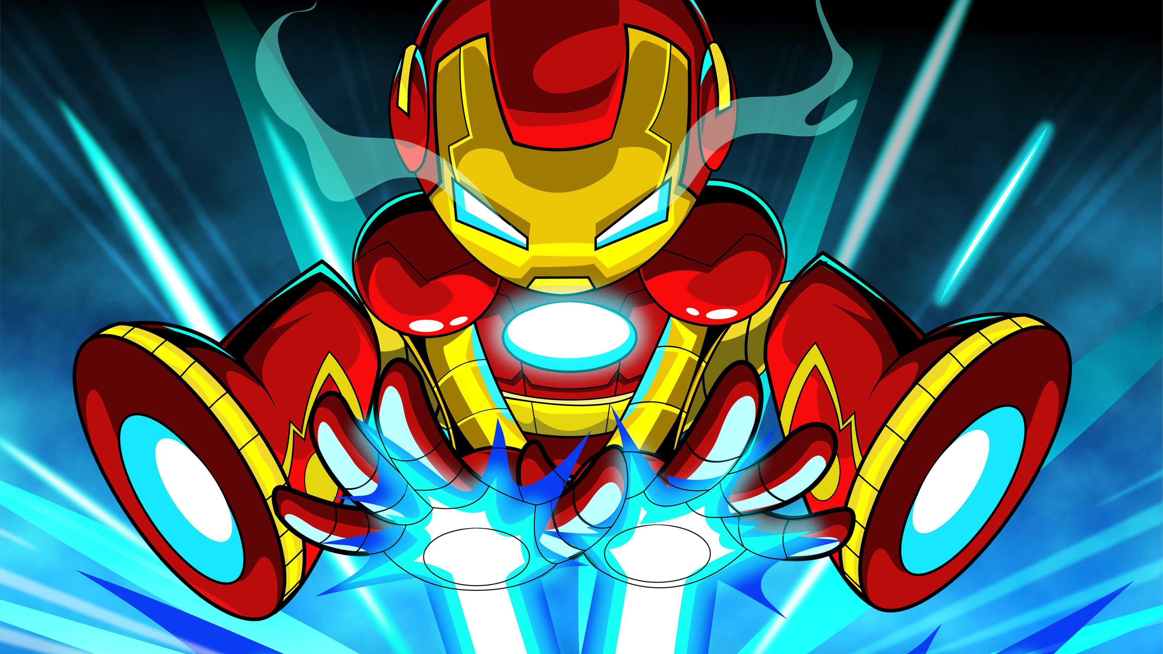 Iron Man Cartoon Wallpaper Iron Man Wallpaper 4k 126204 Hd Wallpaper Backgrounds Download