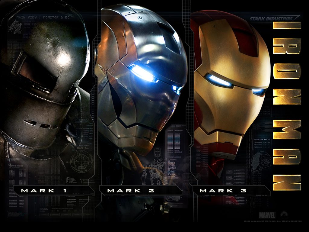 Iron Man 2008 Suit , HD Wallpaper & Backgrounds