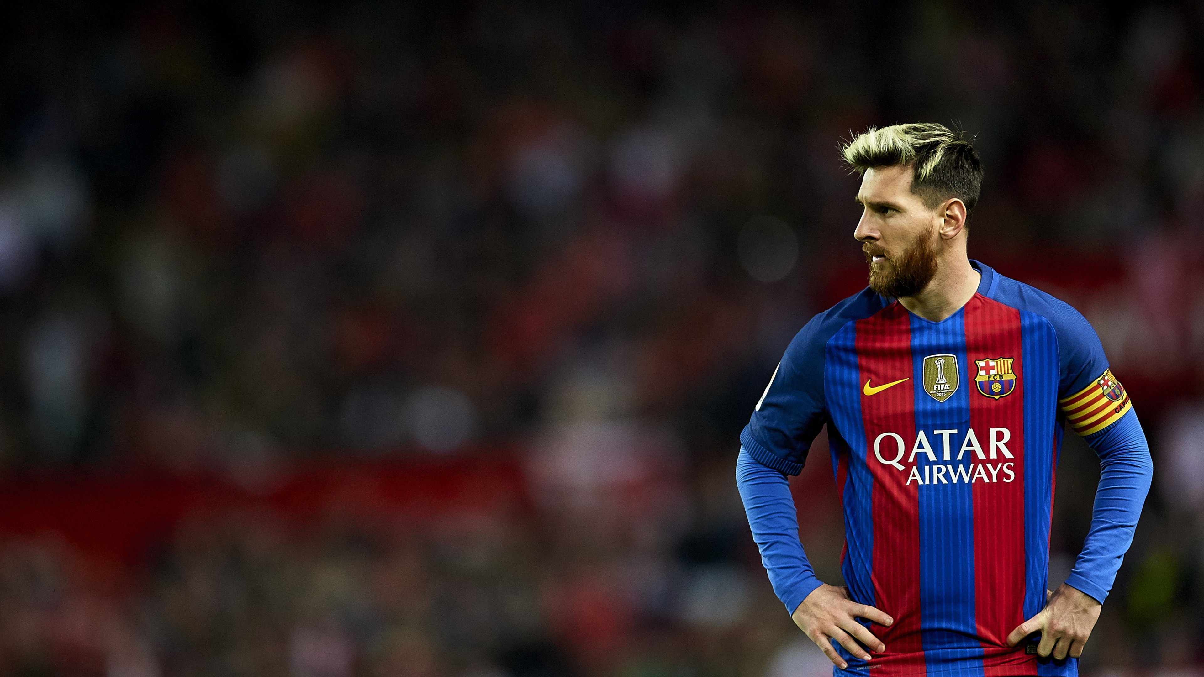 2k - Ultra Hd Leo Messi Hd , HD Wallpaper & Backgrounds
