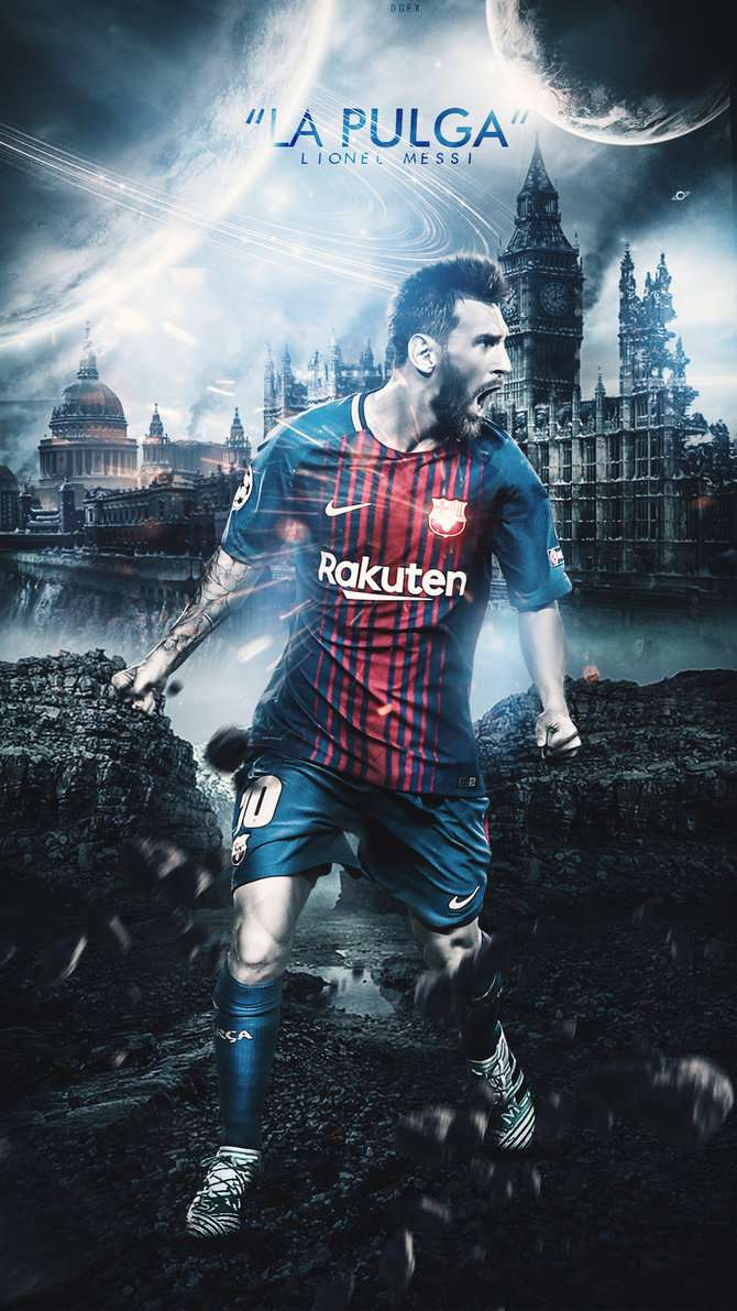 Lionel Messi Wallpaper Lockscreen - Lionel Messi Hd Wallpaper 2018 , HD Wallpaper & Backgrounds