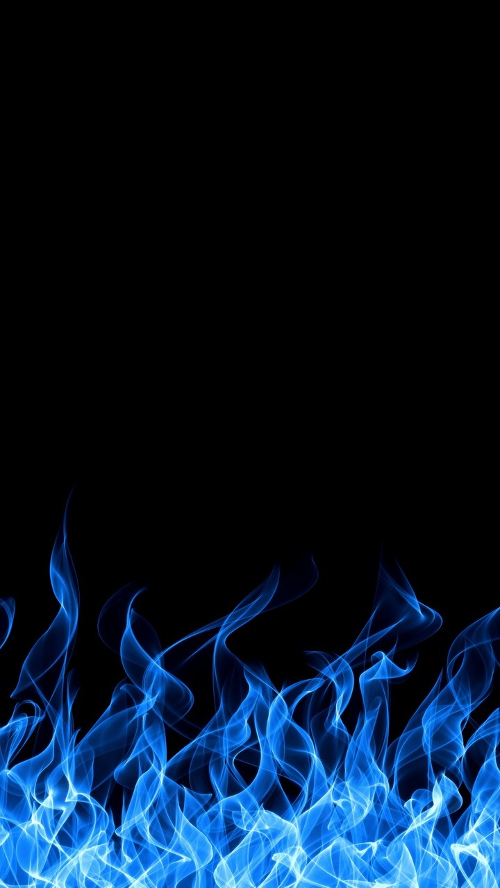 Blue Fire Iphone Wallpaper Hd Resolution - Blue Fire Background Hd , HD Wallpaper & Backgrounds