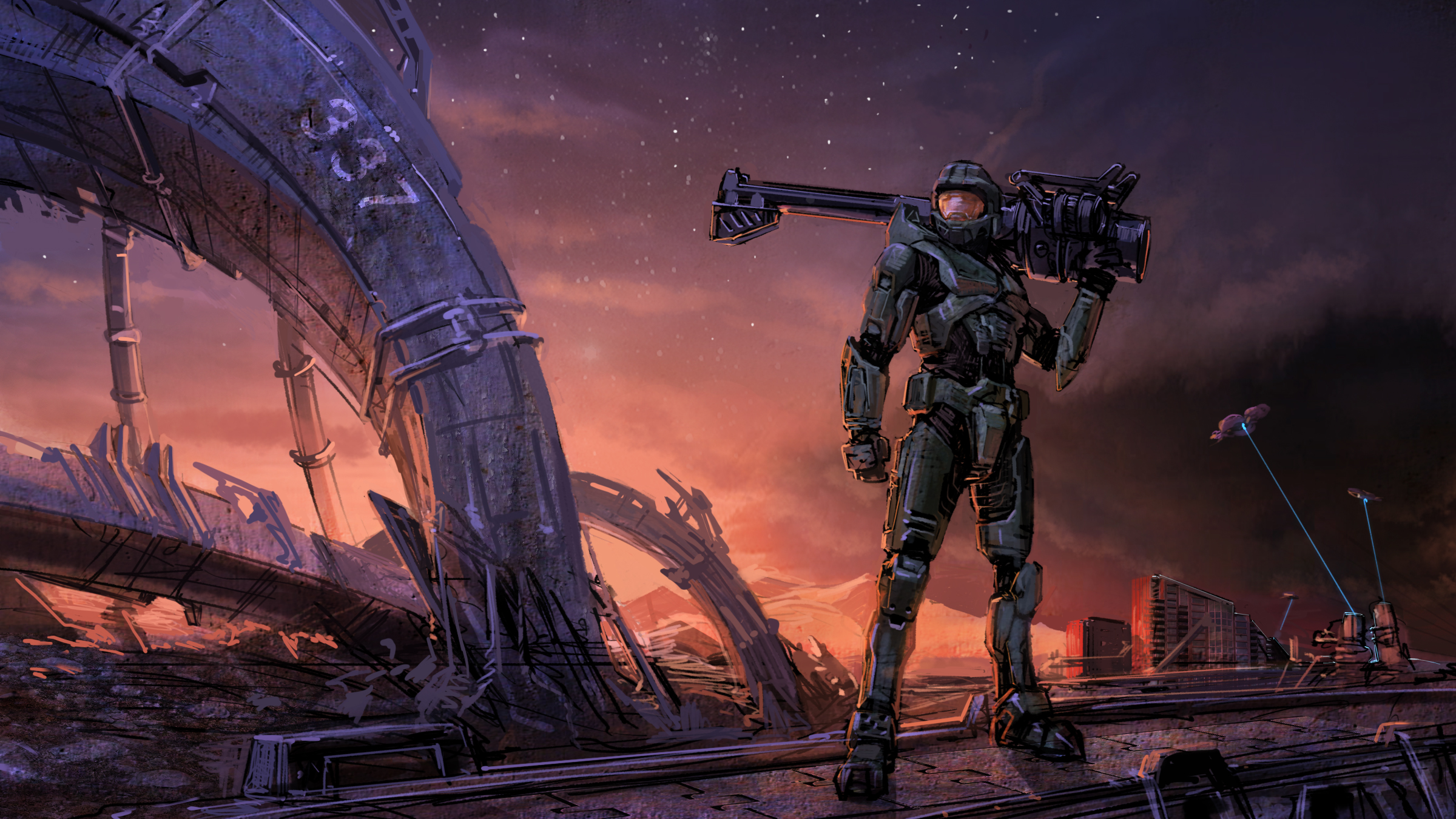 Download Halo 3 Background 126732 Hd Wallpaper