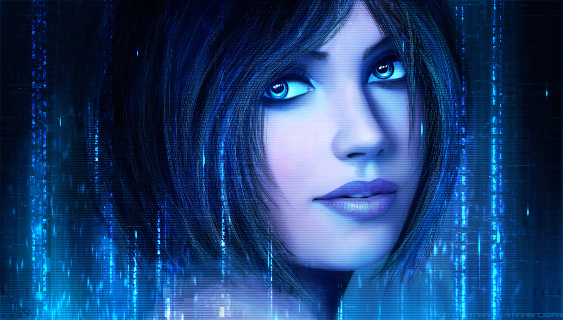 Cortana Halo 126777 Hd Wallpaper Backgrounds Download