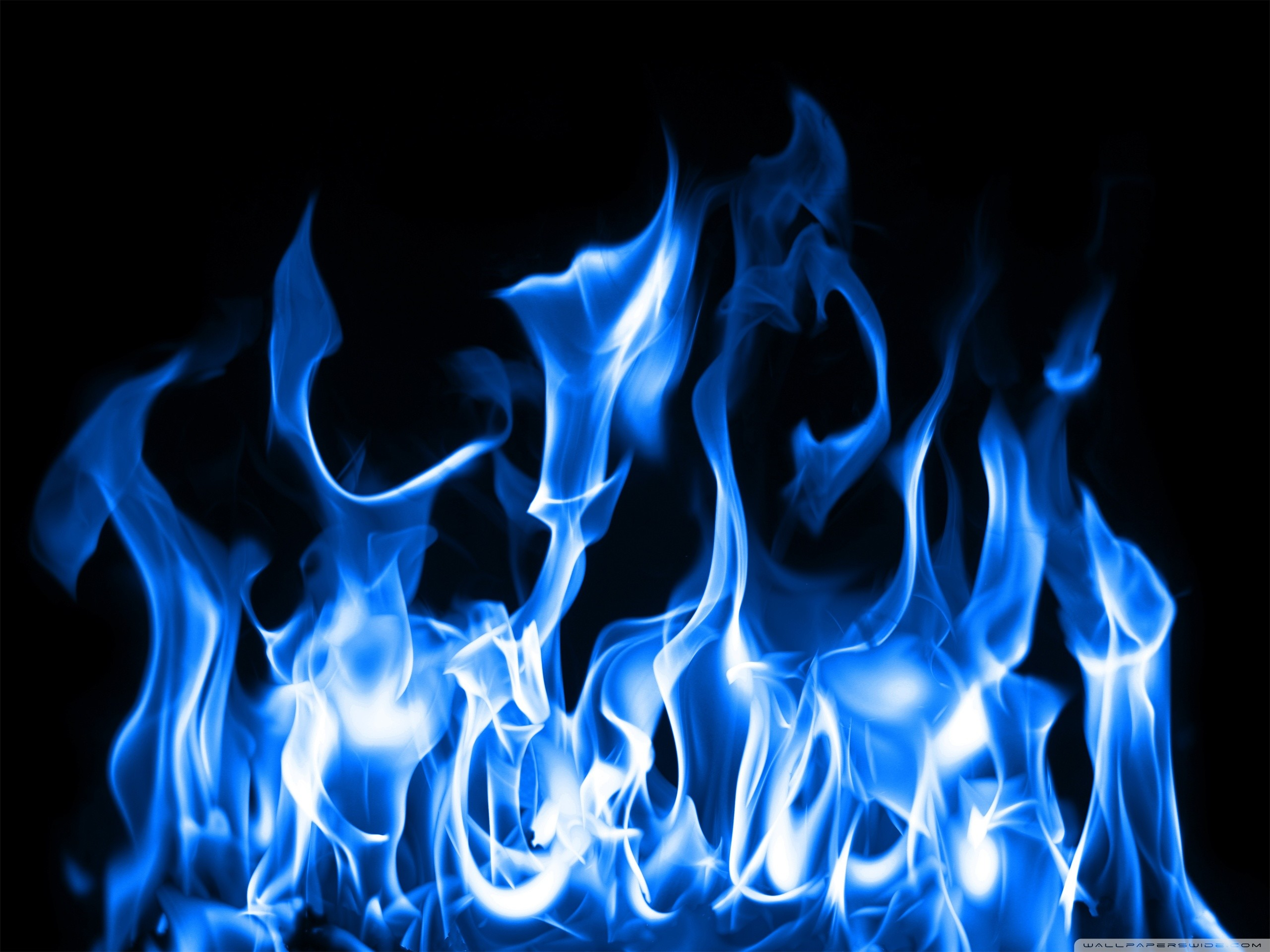 Most Downloaded Blue Fire Wallpapers - Blue Flames , HD Wallpaper & Backgrounds