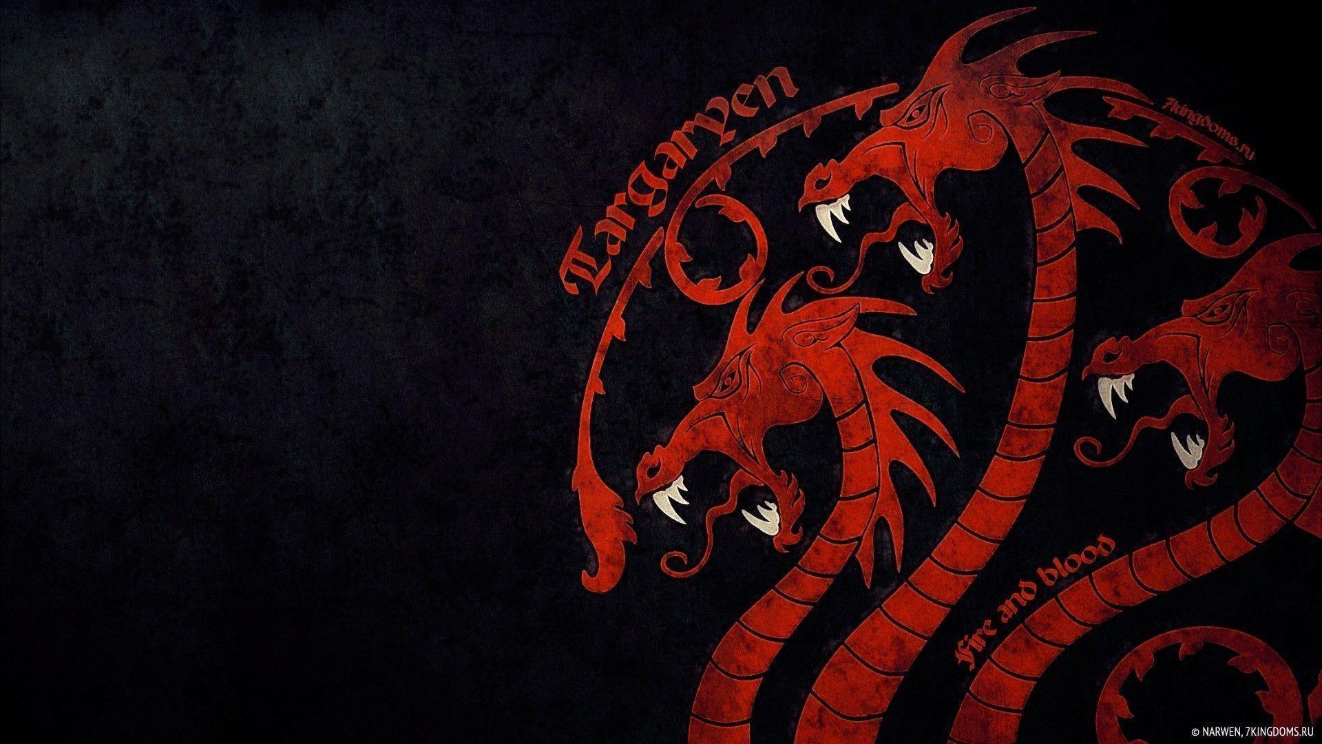 Download A - House Targaryen Wallpaper 4k , HD Wallpaper & Backgrounds