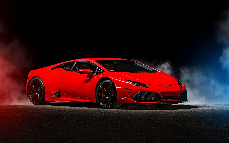Lamborghini Huracan Red Lamborghini Wallpaper 4k 127092