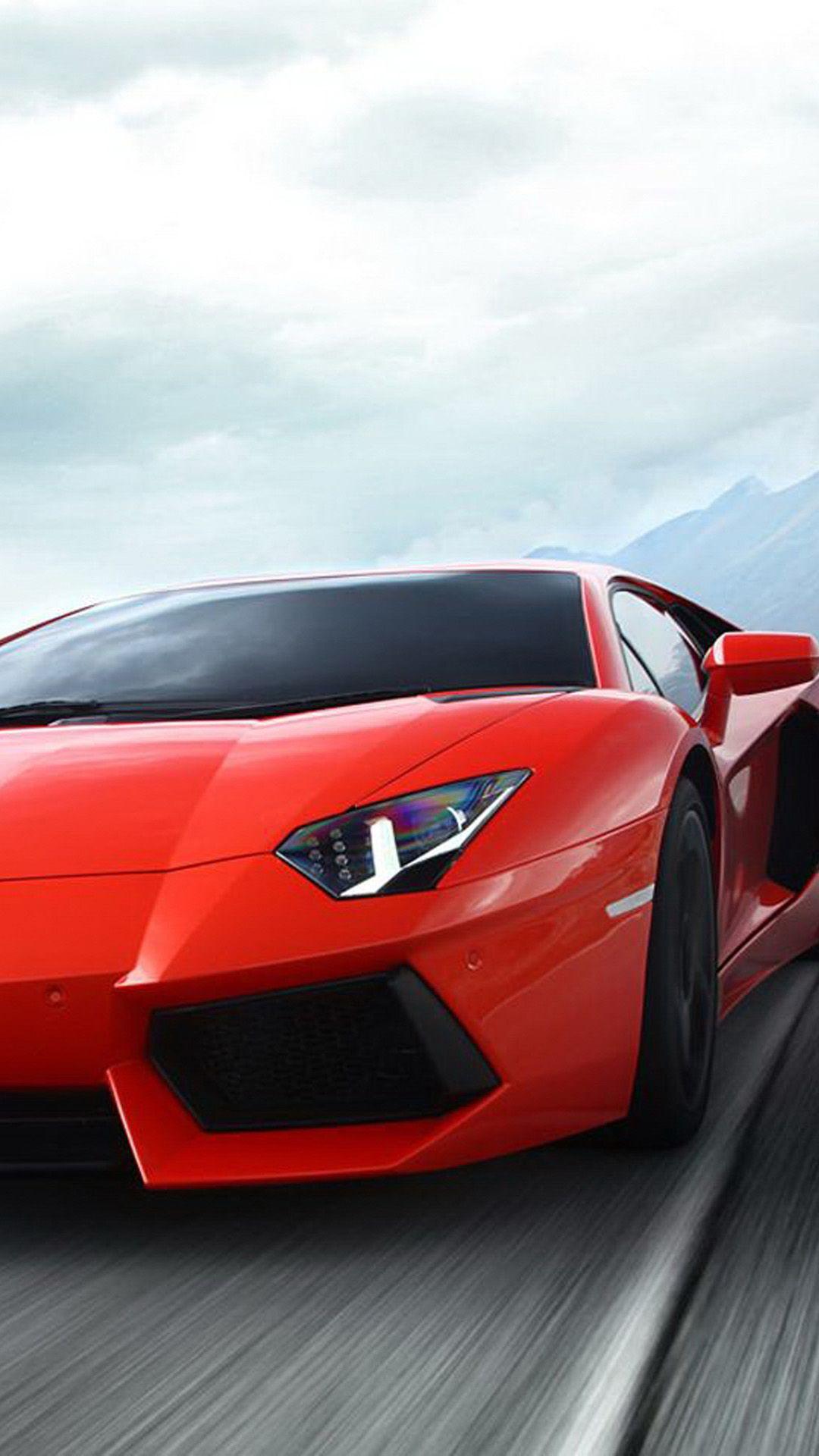 Red Lamborghini Wallpaper > - Sport Car Hd Wallpaper Phone , HD Wallpaper & Backgrounds