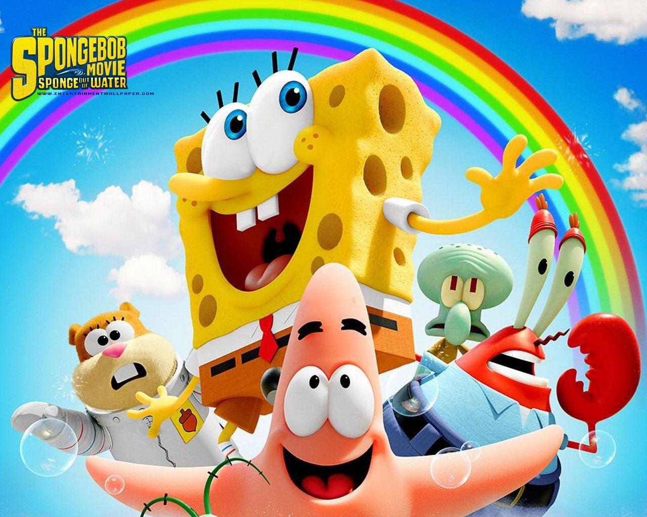 The Spongebob Movie - Spongebob Movie Sponge Out Of Water , HD Wallpaper & Backgrounds