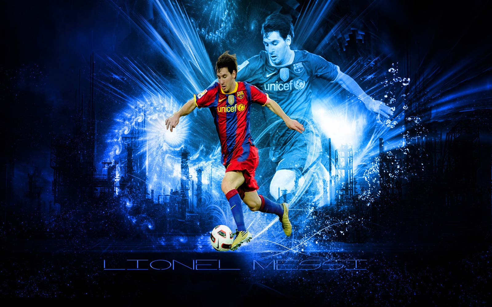 Lionel Messi Wallpapers - Fc Barcelona Messi , HD Wallpaper & Backgrounds