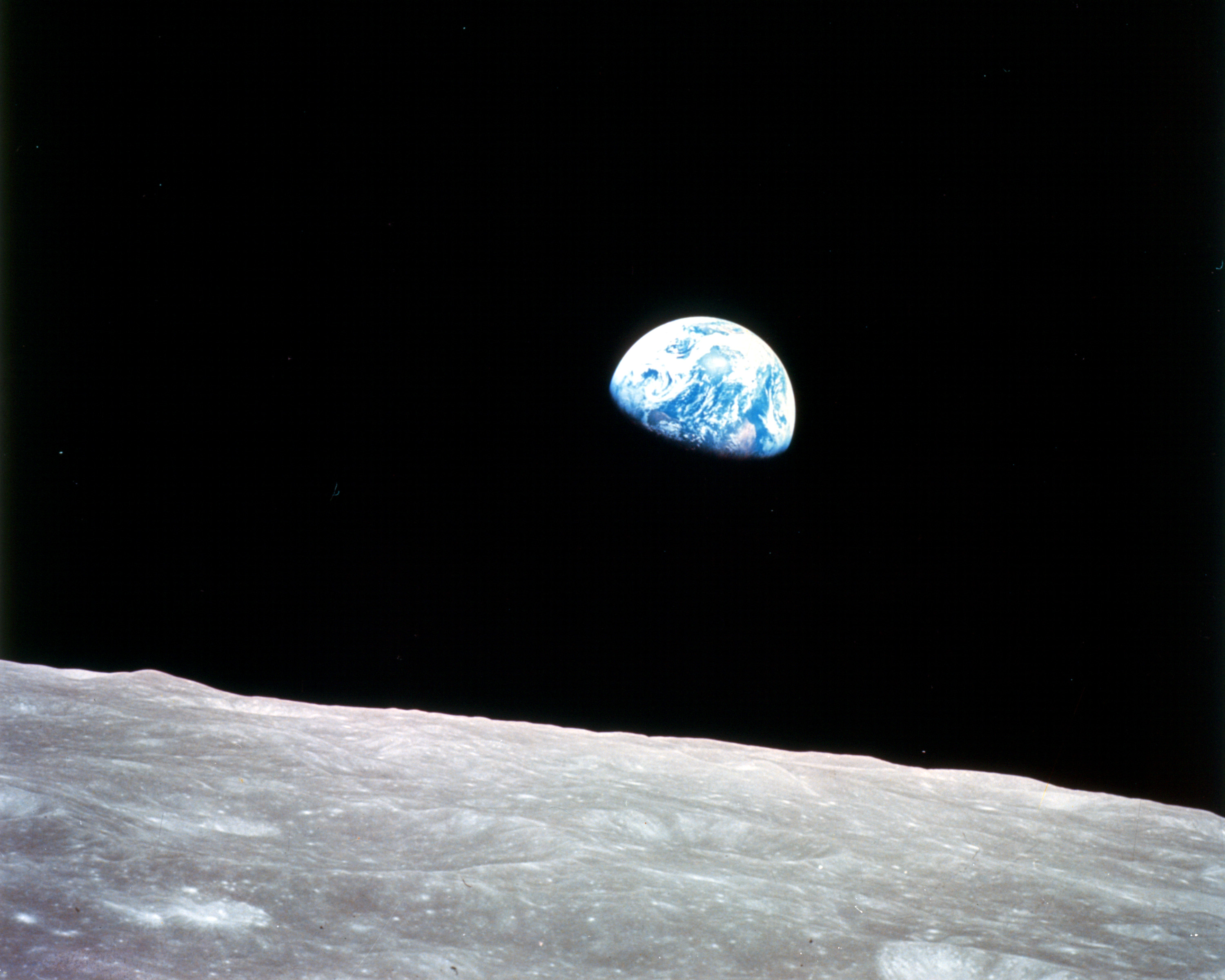 Space Wallpapers Apollo 8 Earth Rise 129136 Hd Wallpaper
