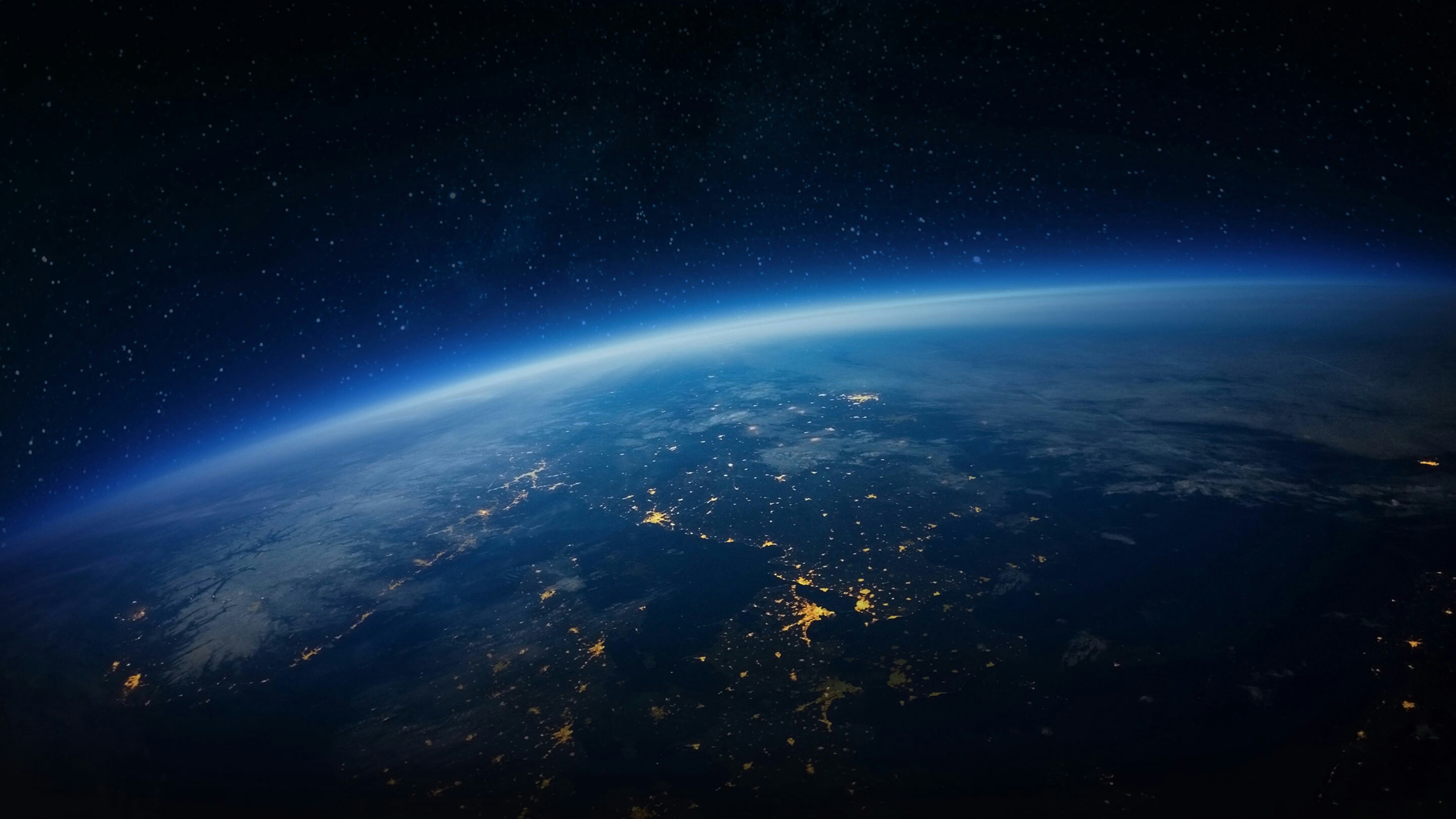 Universe, Earth, Night, Cosmos, Space Hd Wallpaper, - Outer Space , HD Wallpaper & Backgrounds