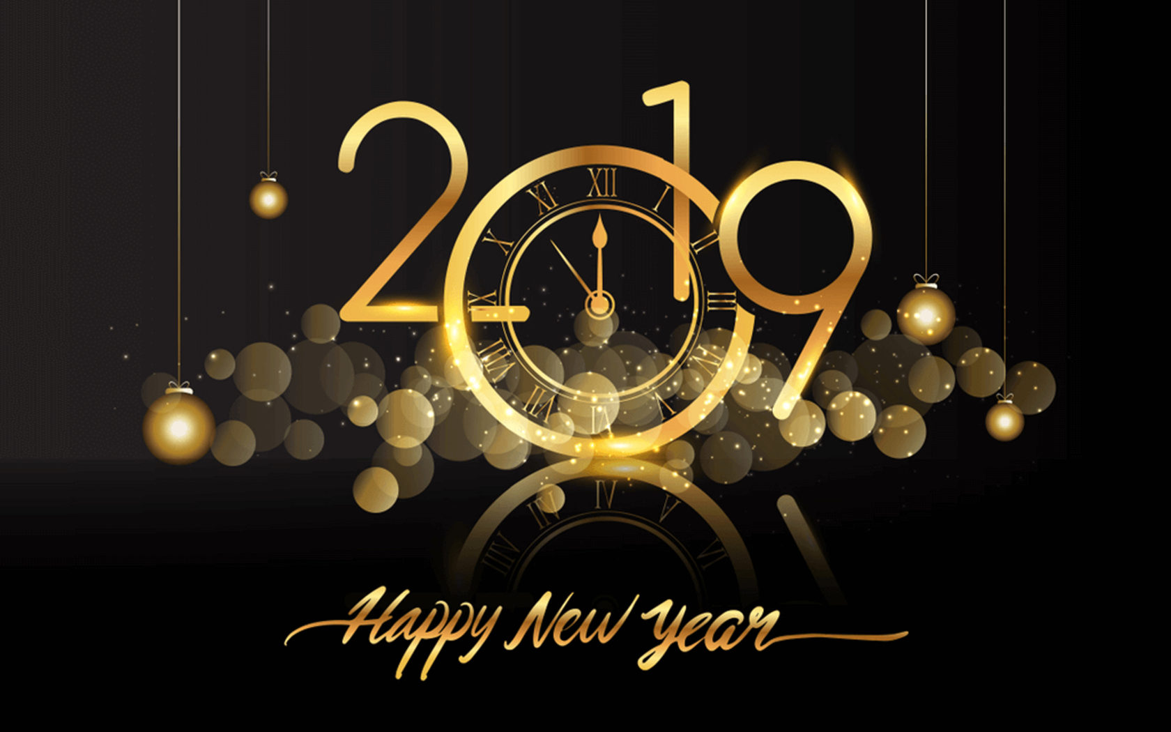 - - Happy New Year 2019 , HD Wallpaper & Backgrounds