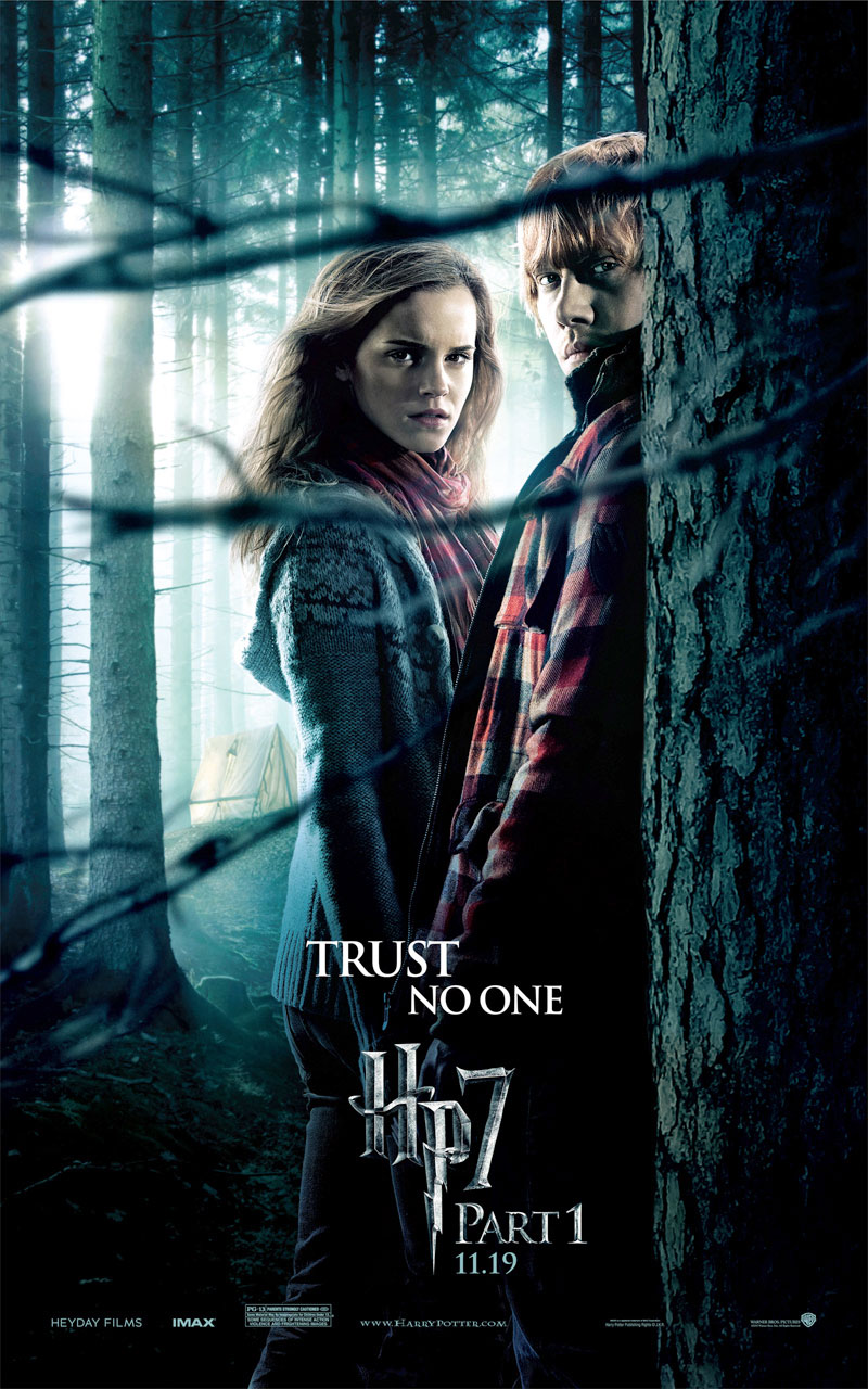Hermione And Ron Weasley From Harry Potter And The Harry Potter