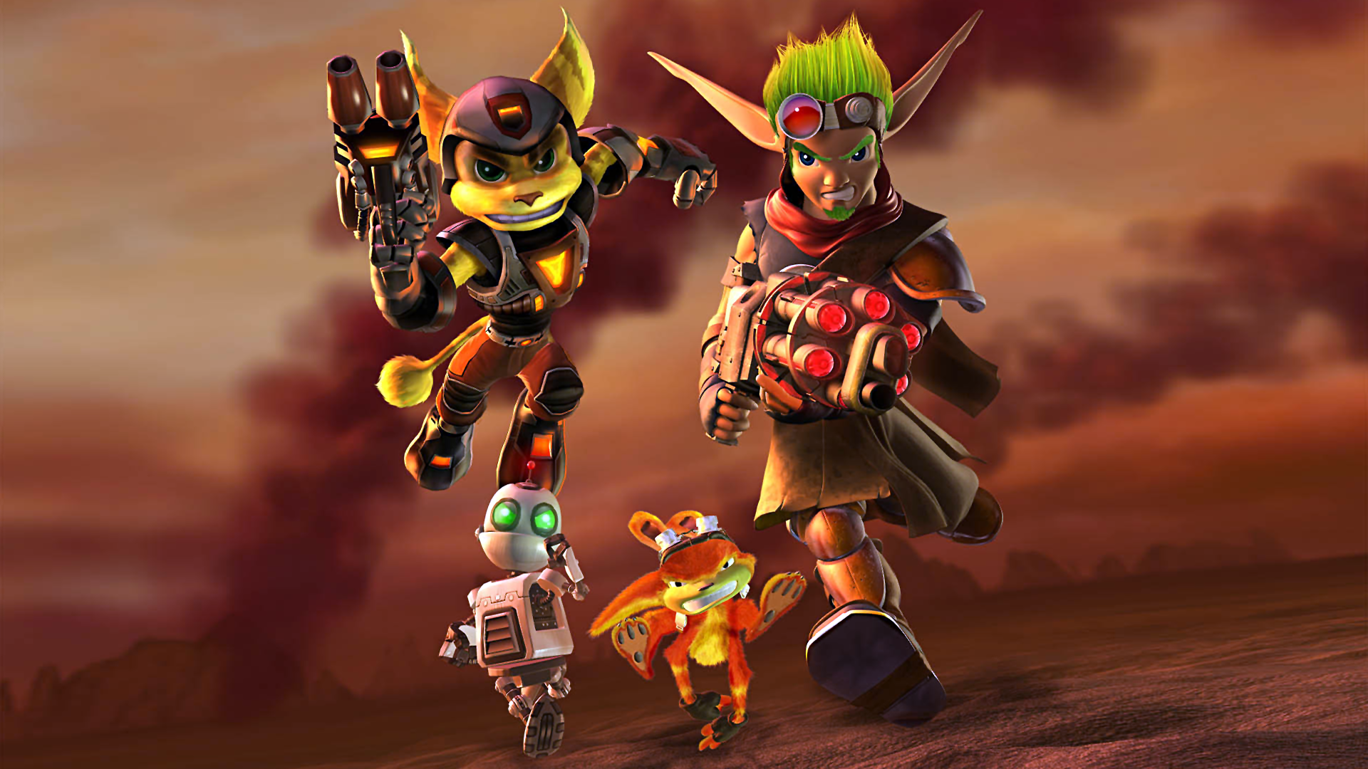 Ratchet Jak Wallpaper Ratchet And Clank Jak And Daxter