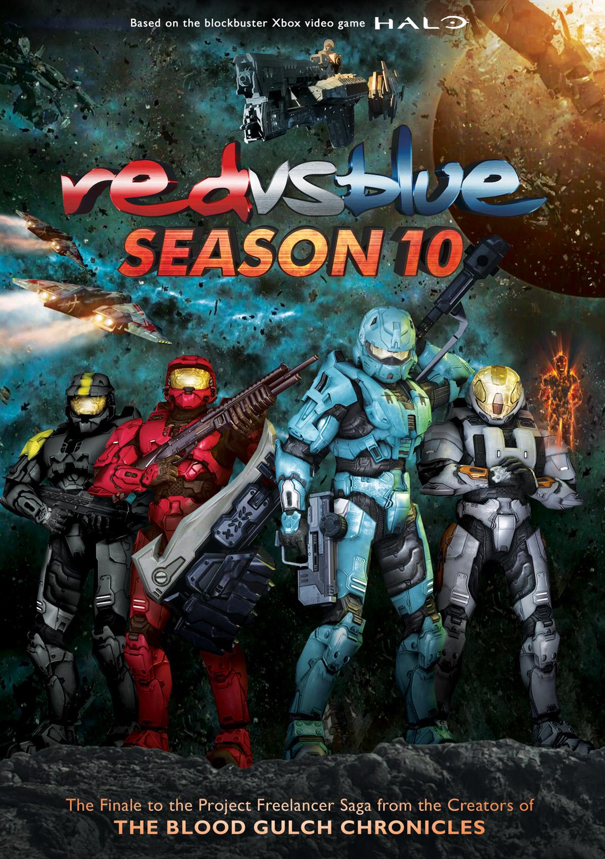 Rvb Season 10 Wallpaper Red Vs Blue Season 10 1205172 Hd