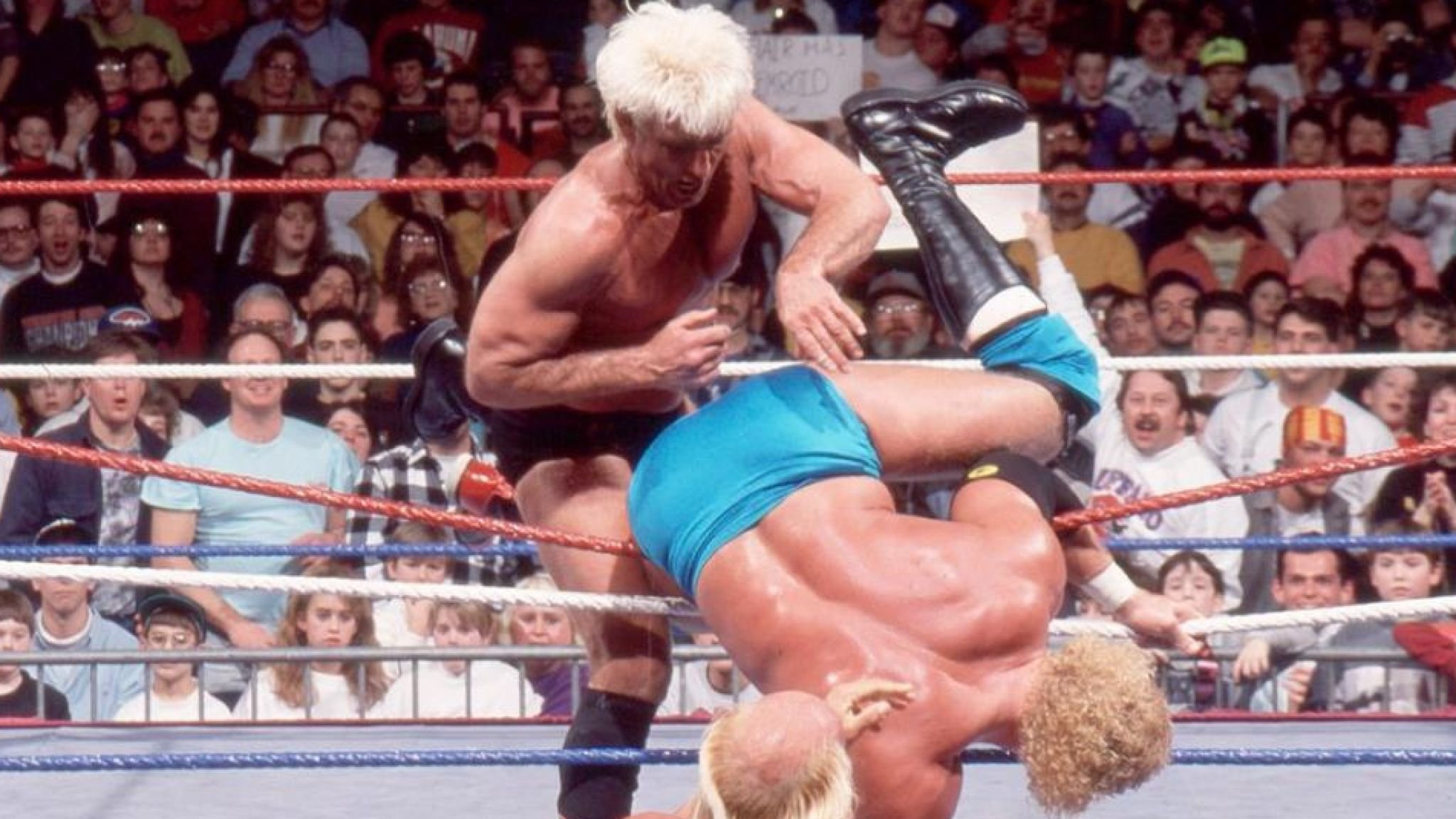Ric Flair Says 1992 Royal Rumble Victory Was 'life - Wwe Ric Flair 1992 , HD Wallpaper & Backgrounds