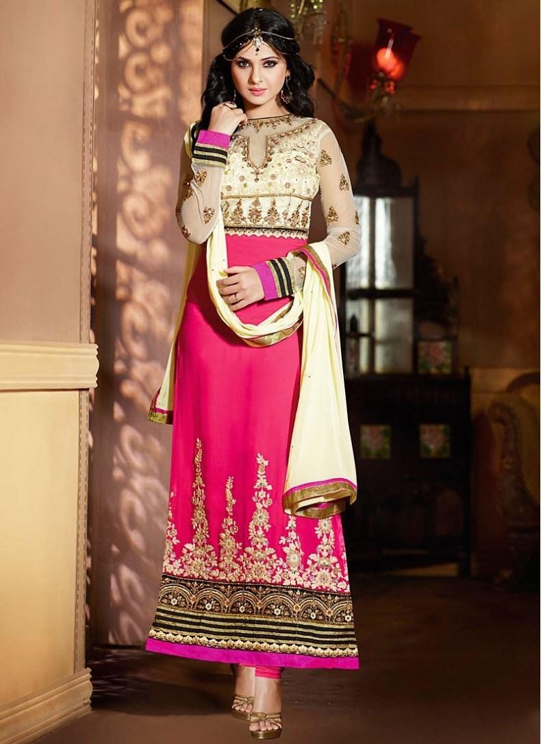Jennifer Winget Saree, Salwar Suit Photos Pics Watch - Salwar Kameez Jennifer Winget In Suits , HD Wallpaper & Backgrounds
