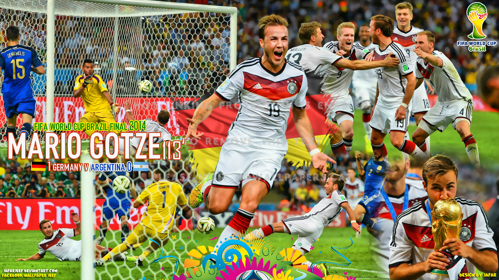 Background World Cup 2014 Final , HD Wallpaper & Backgrounds
