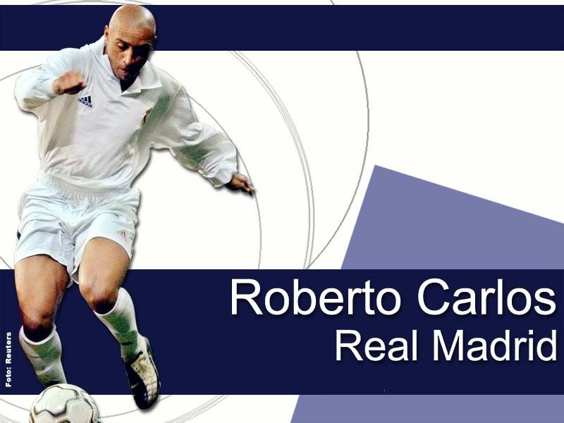 Roberto Carlos Real Madrid Wallpaper Roberto Carlos