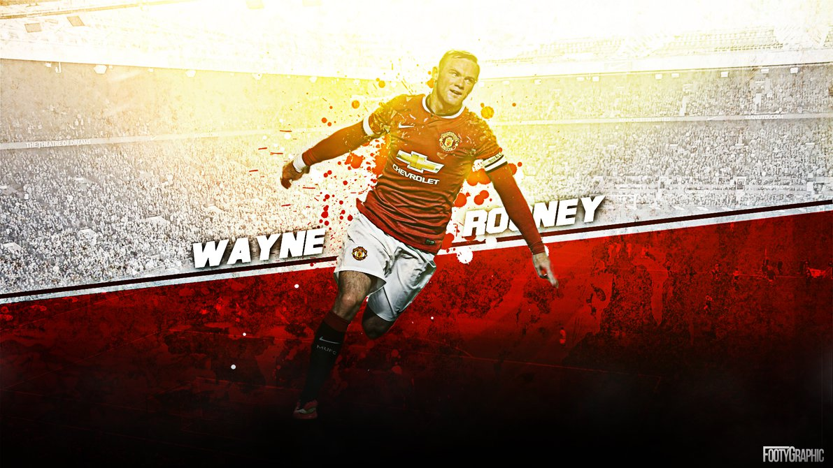 Manchester United 2017 Wayne Rooney HD