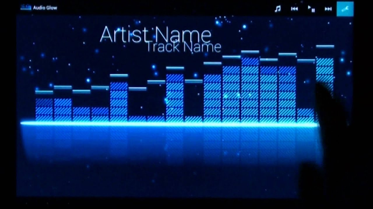Music Visualizer For Android - Music Player For Android With Visualization , HD Wallpaper & Backgrounds