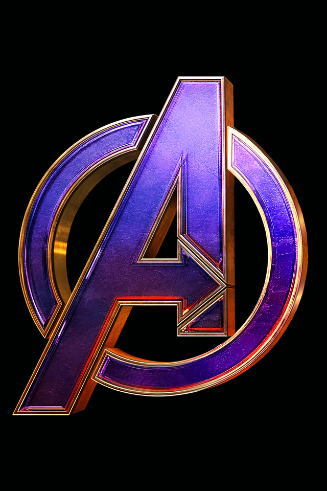 Avengers Endgame Logo 4k Iphone 4 Iphone 4s Hd 4k Marvel
