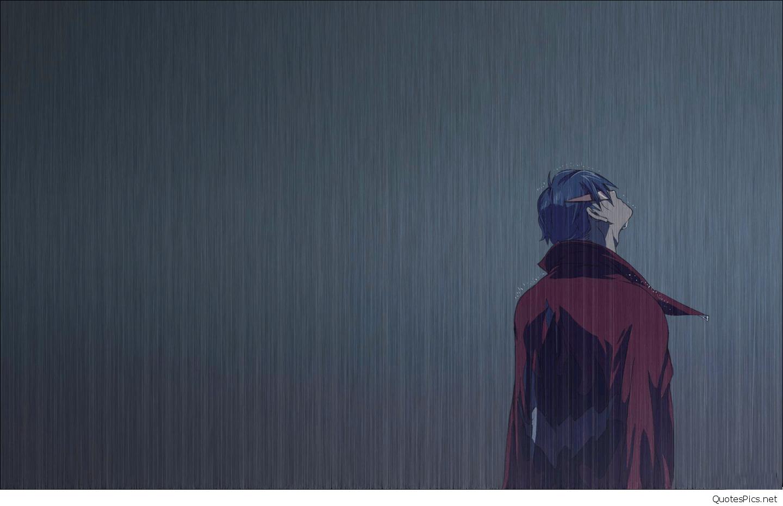 Sad Anime Boy Wallpaper Hd Girl 1215408 Hd Wallpaper