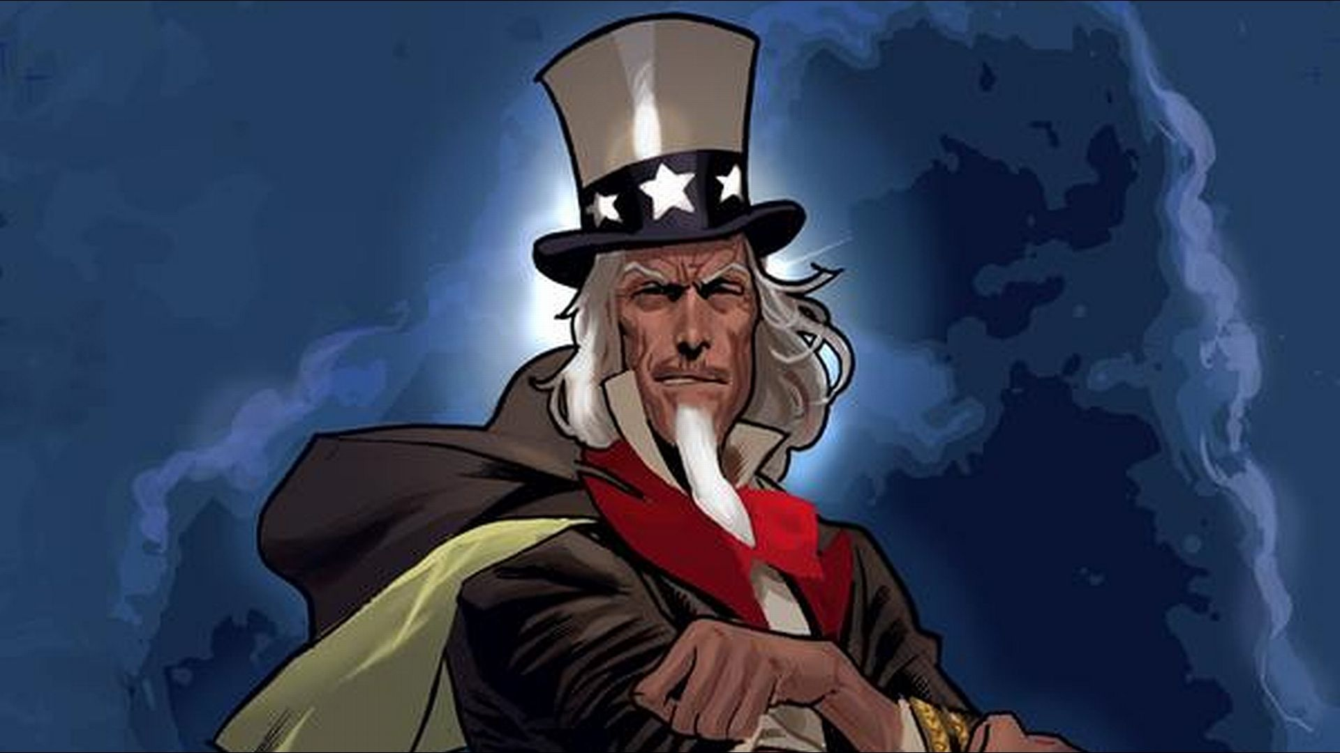 6 Uncle Sam And The Freedom Fighters Hd Wallpapers - Uncle Sam , HD Wallpaper & Backgrounds