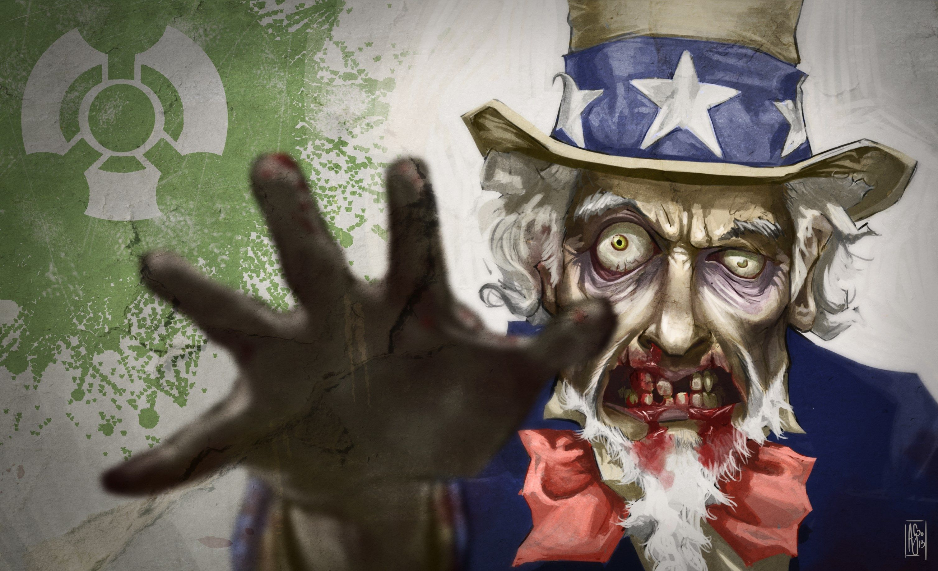 High Resolution Wallpapers Uncle Sam - Scary 4th Of July , HD Wallpaper & Backgrounds