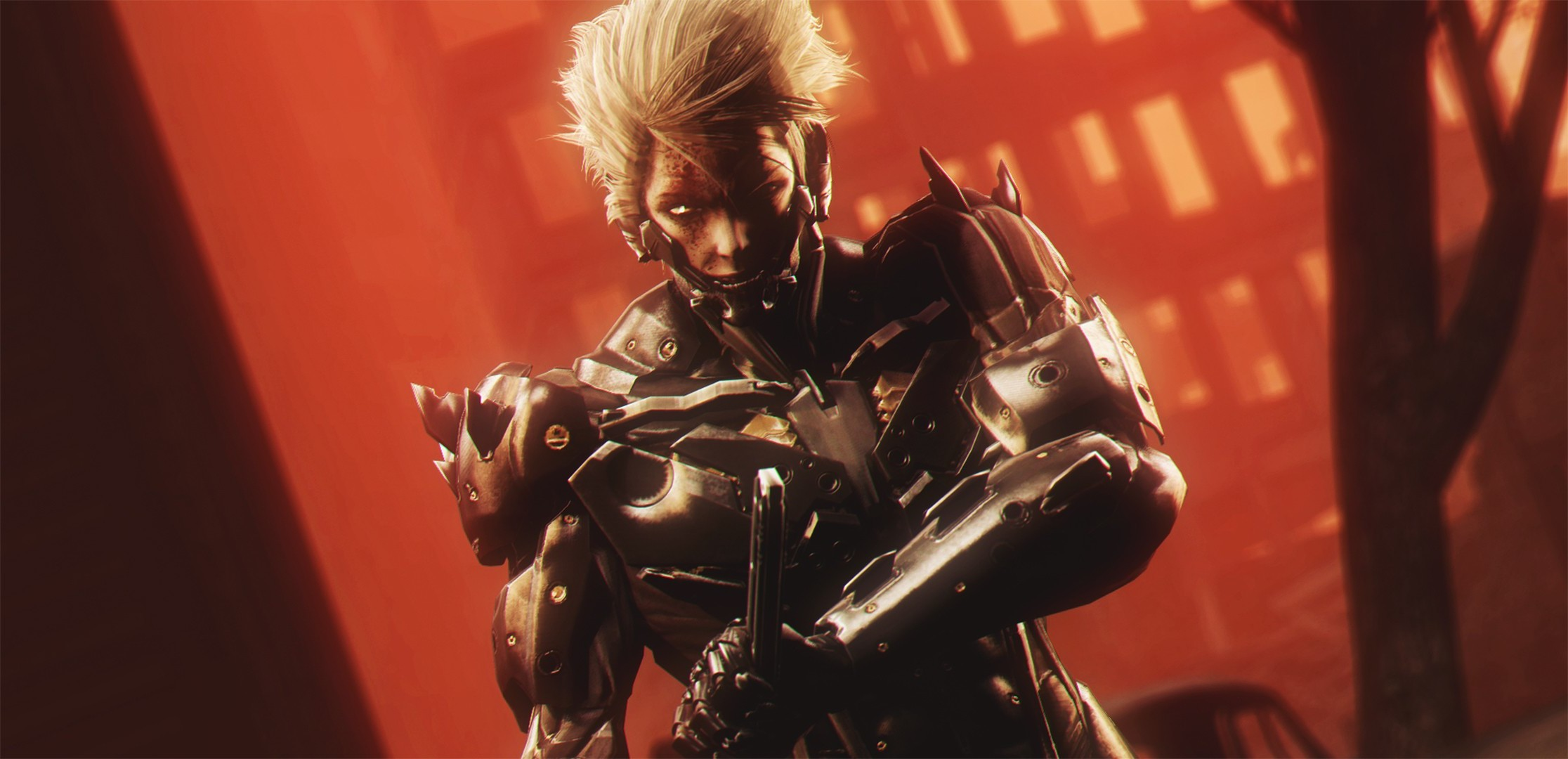 Video Games Artwork Metal Gear Rising Revengeance Wallpaper - Cg Artwork , HD Wallpaper & Backgrounds