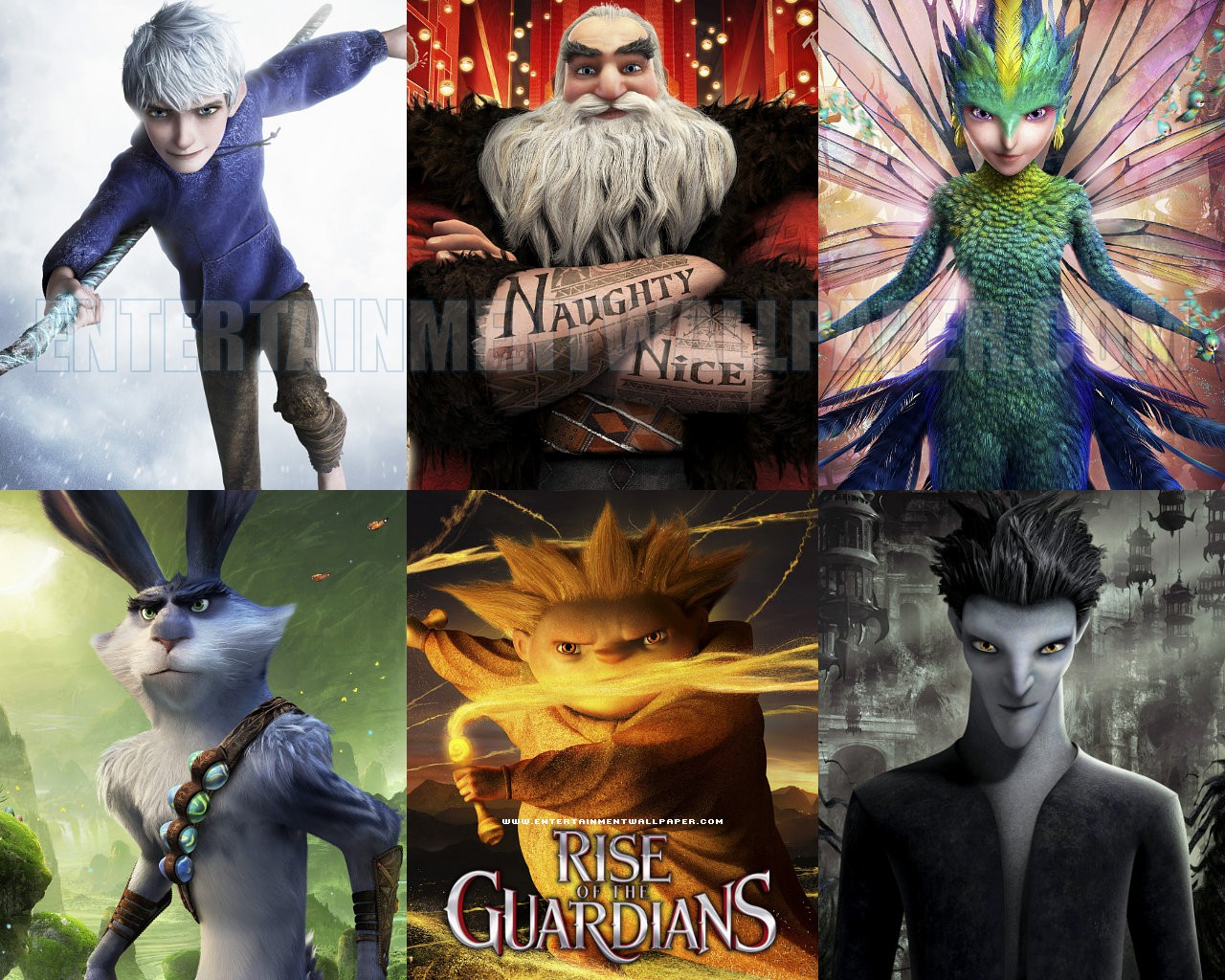 Rise Of The Guardians Wallpaper - Rise Of The Guardians (2012) , HD Wallpaper & Backgrounds