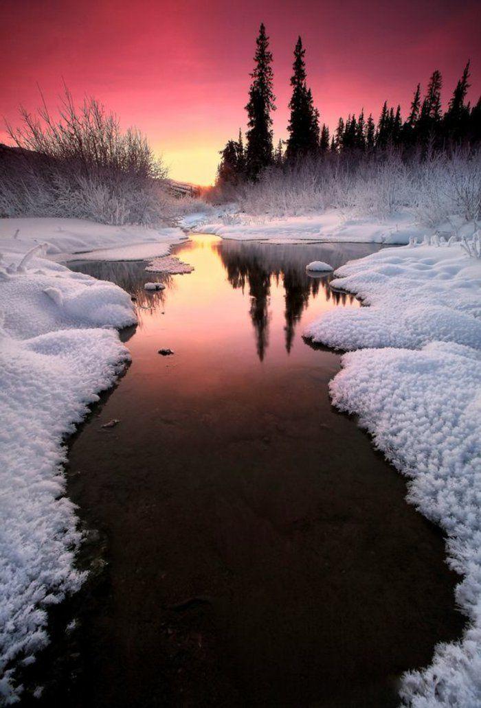 Cool Fond D Ecran Hiver Paysages De Noel éclatant Psalm 50
