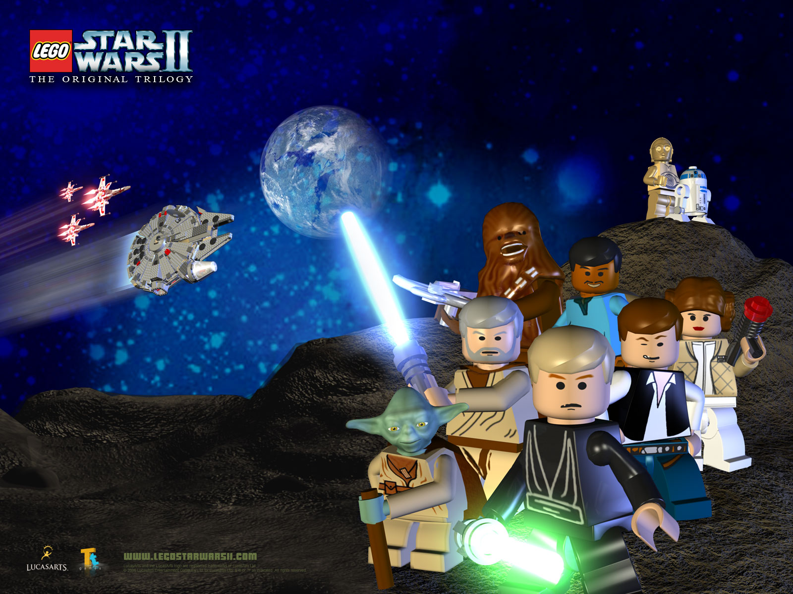 Wallpaper Tapety Lego Star Wars The Complete Saga 1221993 Hd Wallpaper Backgrounds Download
