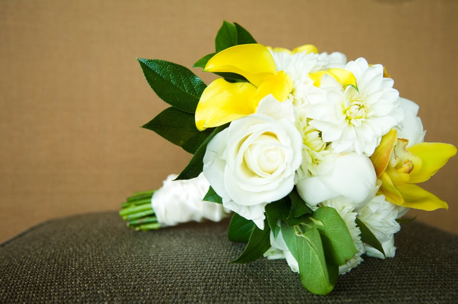 Bouquet Beautiful Roses Lovely Beauty Yellow White - Garden Roses , HD Wallpaper & Backgrounds