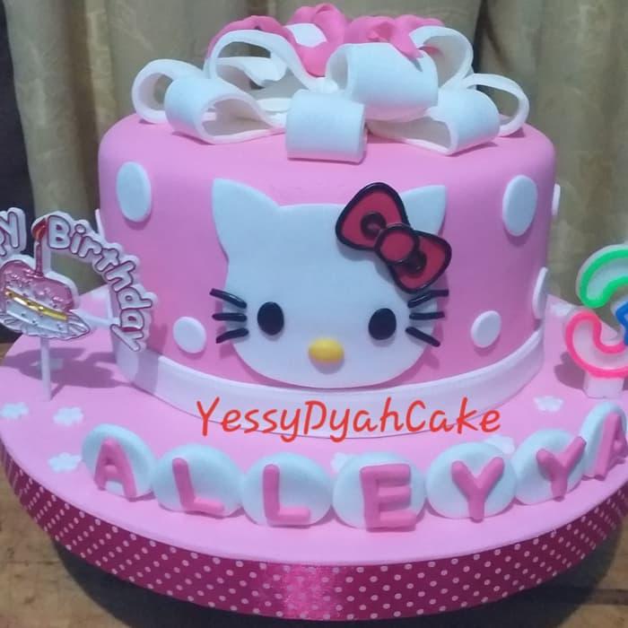 Jual Kue Ulang Tahun Hello Kitty Fondant Varians Store Kue