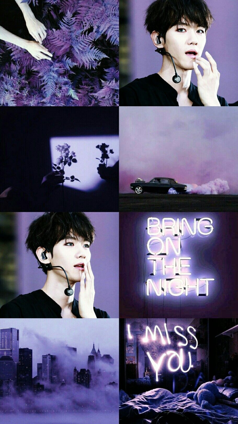 Baekhyun Exo Aesthetic Kpop Exo, Sehun, Exo K, Park - Miss You I Love You , HD Wallpaper & Backgrounds