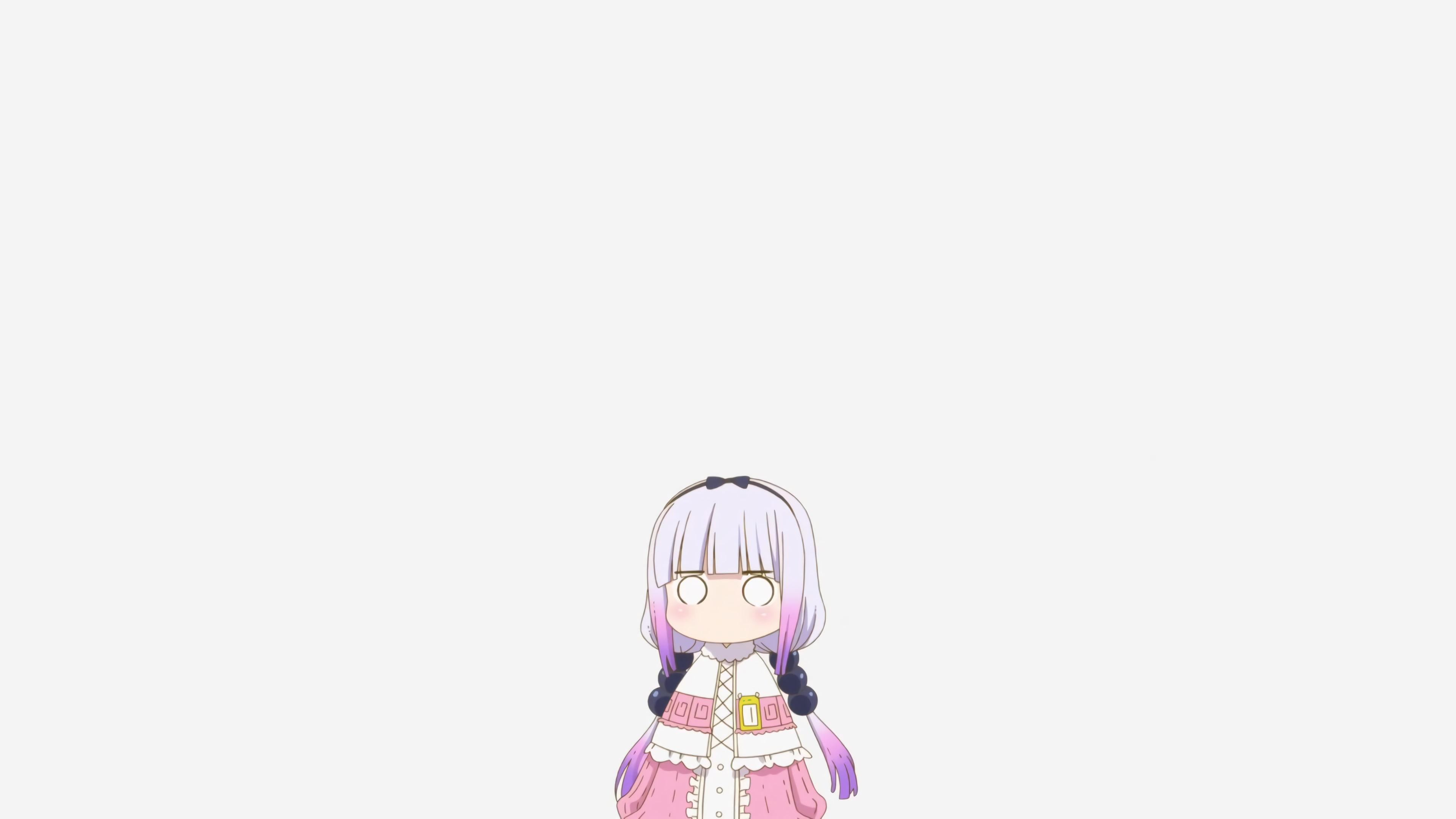 Kobayashi San Chi No Maid Dragon Simple Background Cartoon 1226745 Hd Wallpaper Backgrounds Download